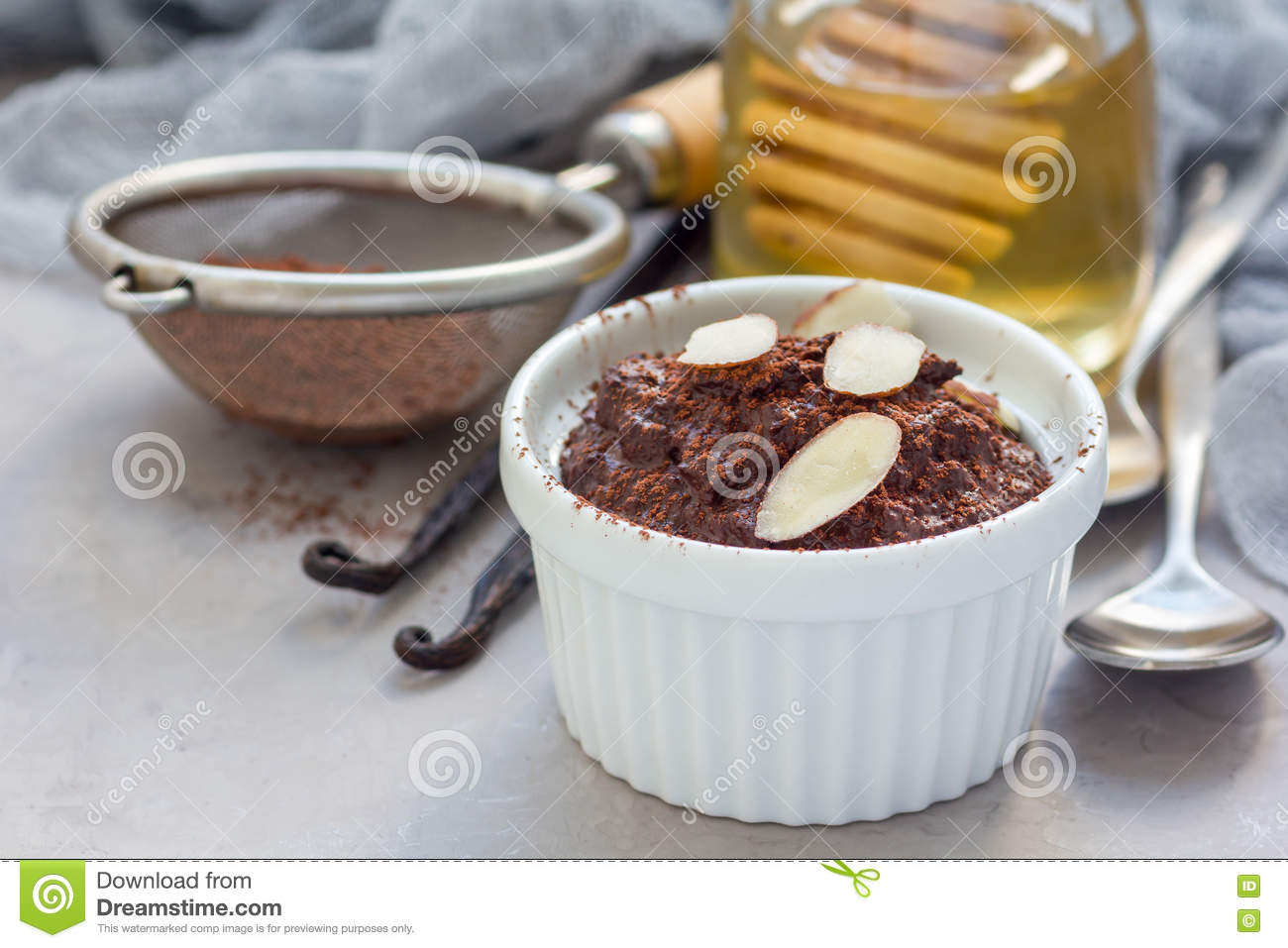 Homemade Hot Chocolate Using Honey