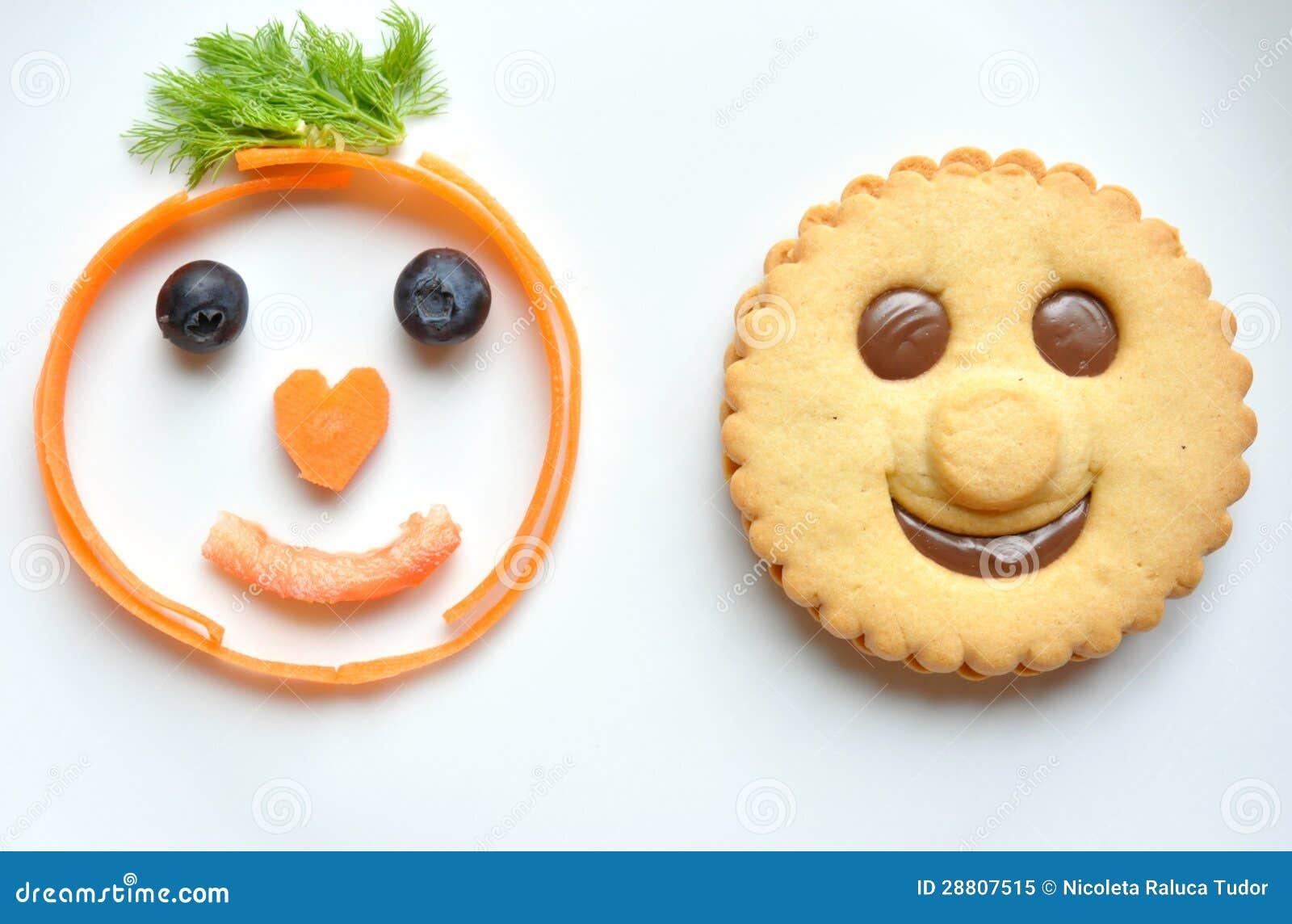 Healthy Unhealthy Food Flashcards