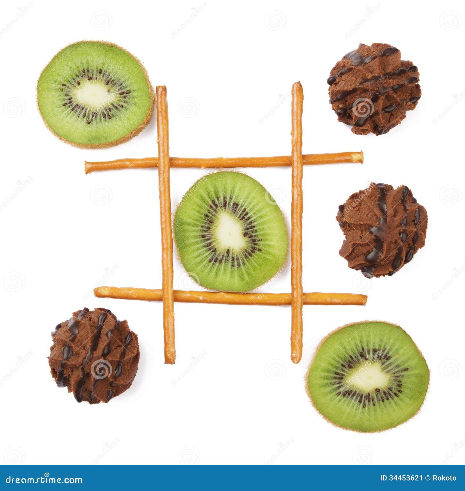 Healthy Vs Unhealthy Food Stock Image - Image: 34453621