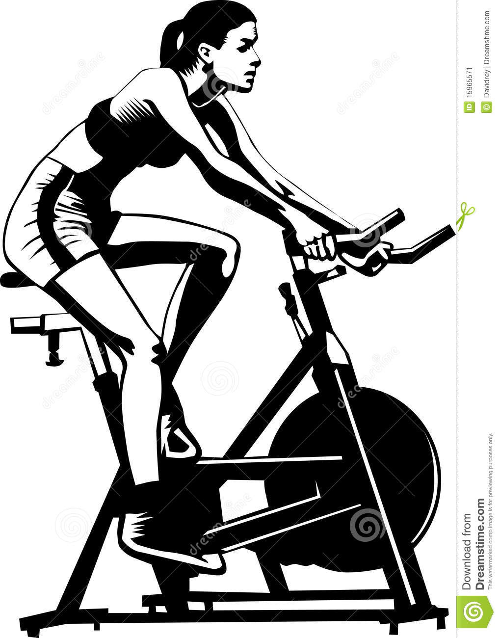 Healthy Woman Excercising Stock Image Image 15965571