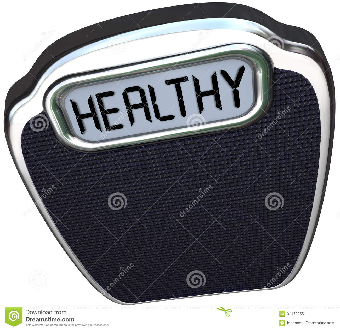 Healthy Word Scale Wellness Health Care Lose Weight ...