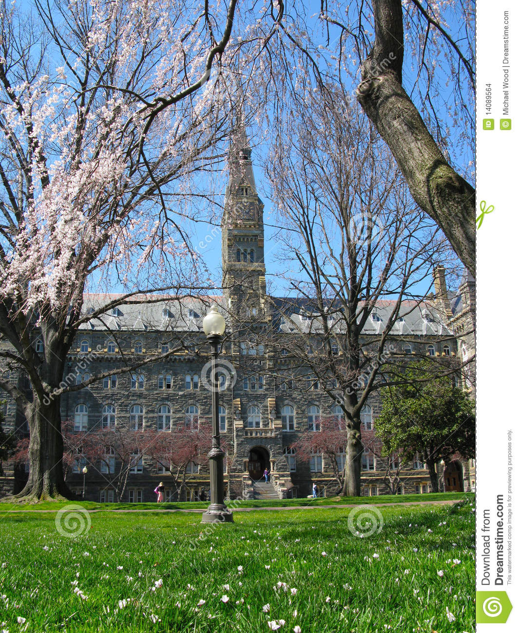 Healy Hall - Georgetown University Stock Images - Image ...