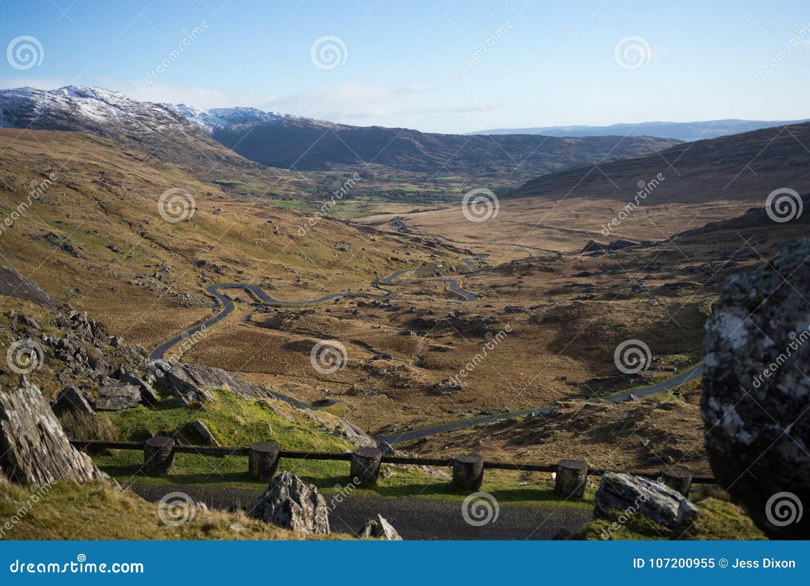 Healy Pass, Co Kerry & Cork van de Provincie, Republiek Ierland