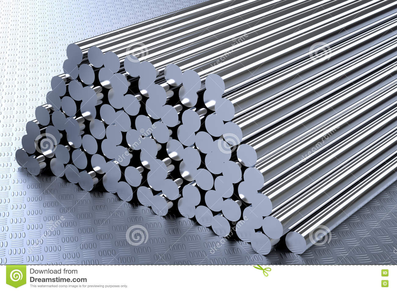 Heap of pipes