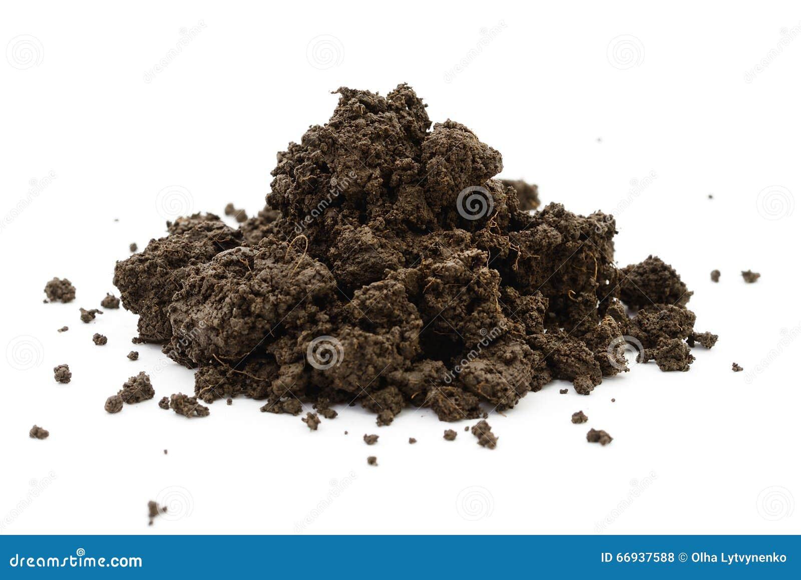 Heap wet black soil stock photo image 66937588 for Soil information in english