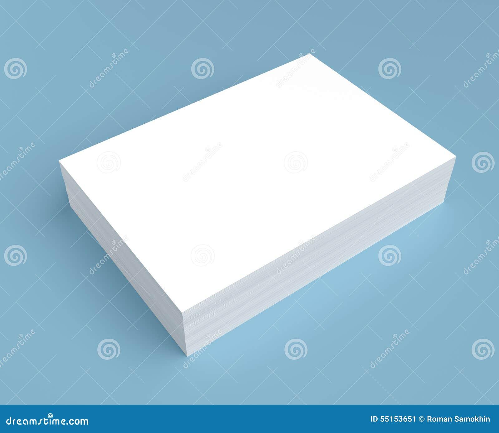 Heap of white paper