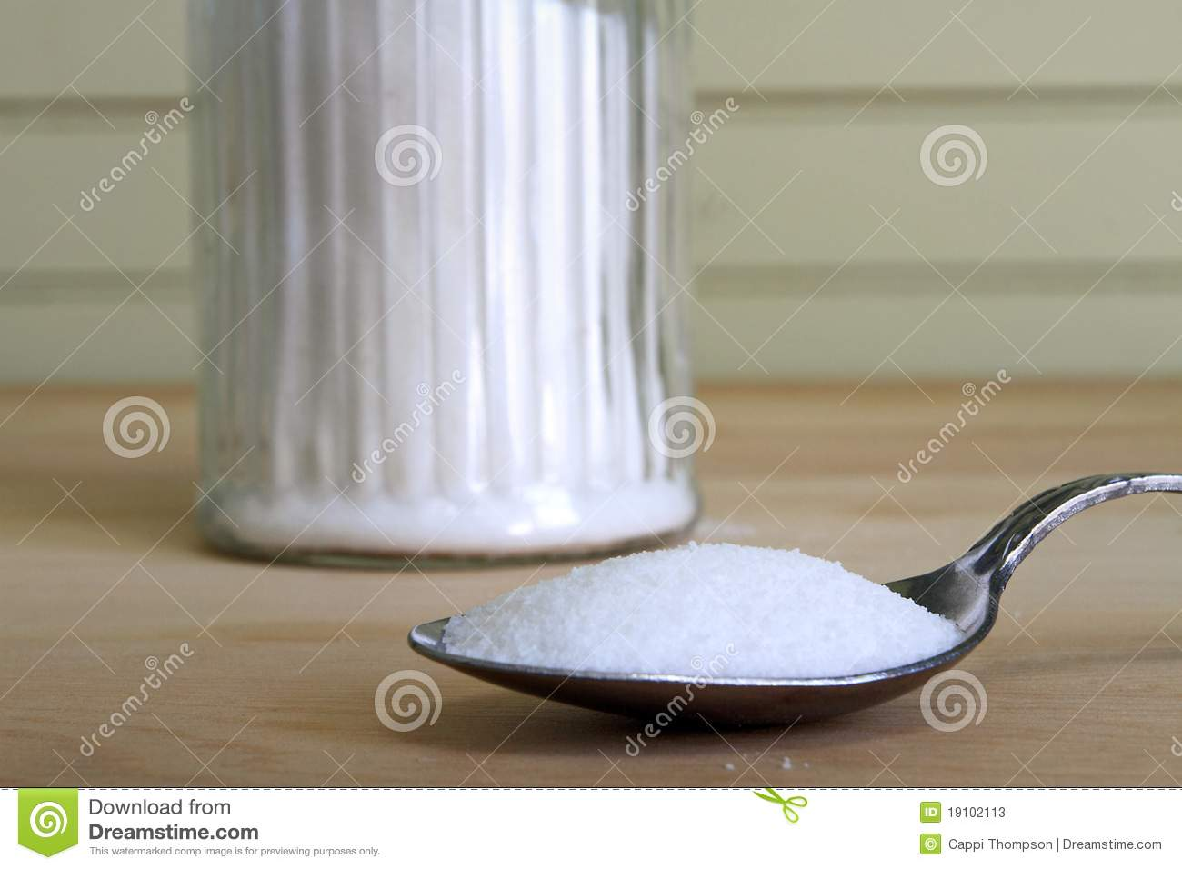 heaping spoonful of sugar stock image image of steel 19102113