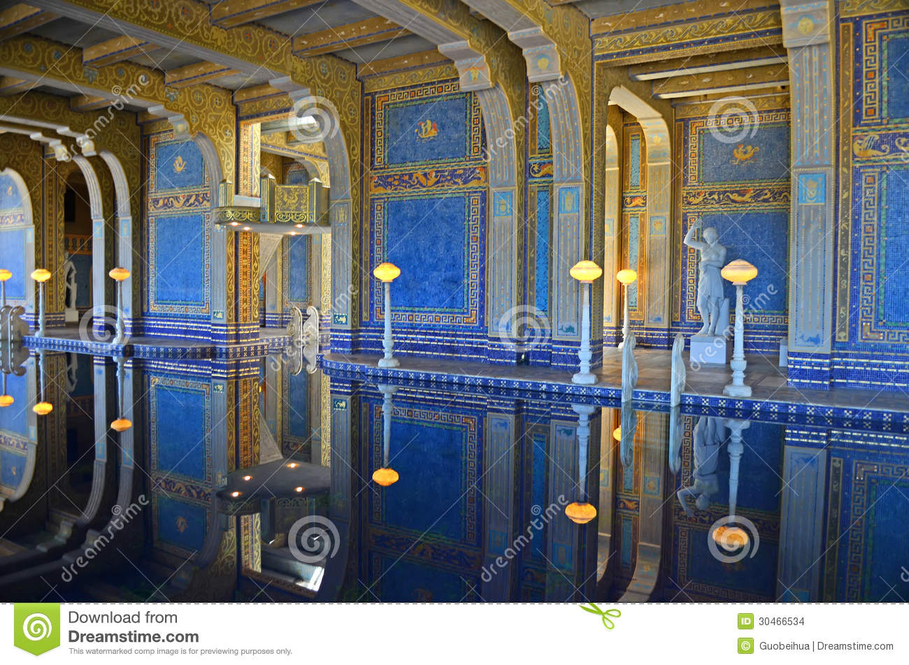 Hearst Castle Swimming Pool Stock Images Image 30466534