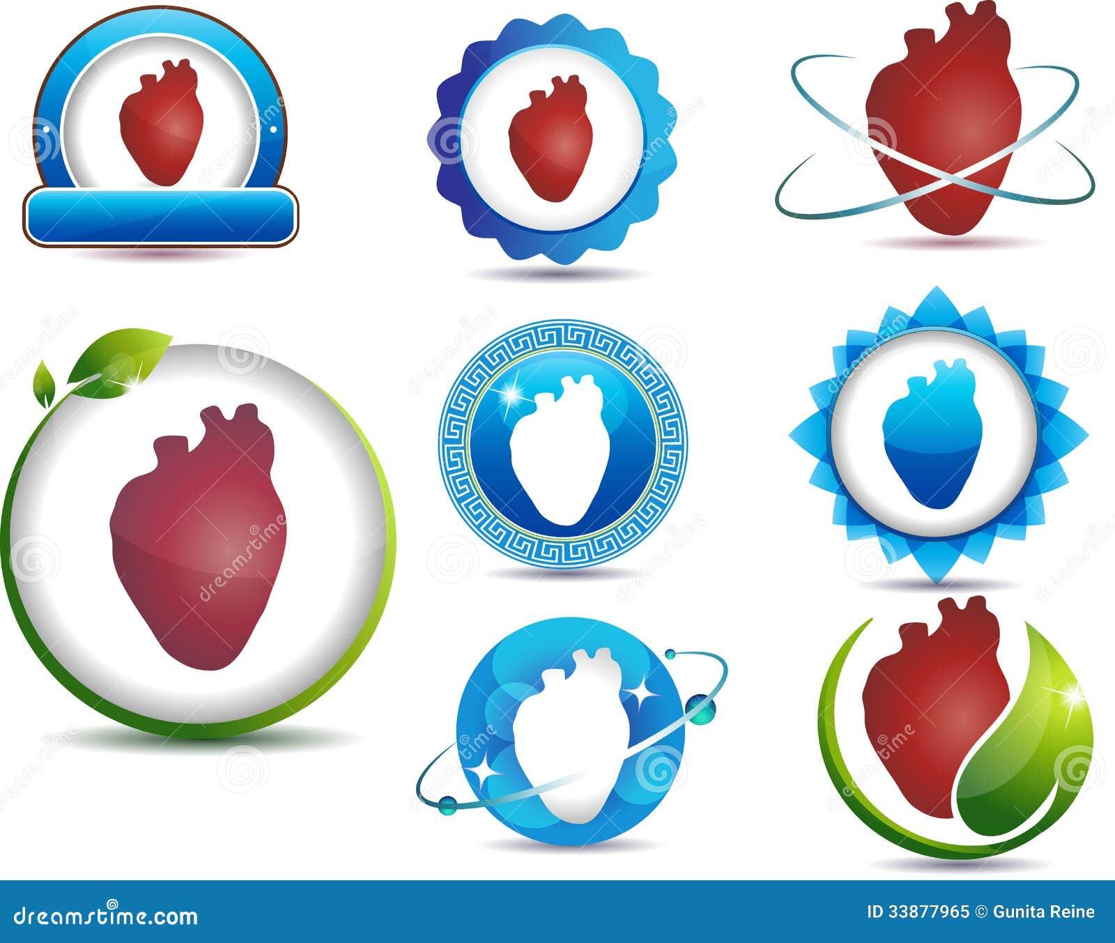 Protection Symbols Heart anatomy symbols