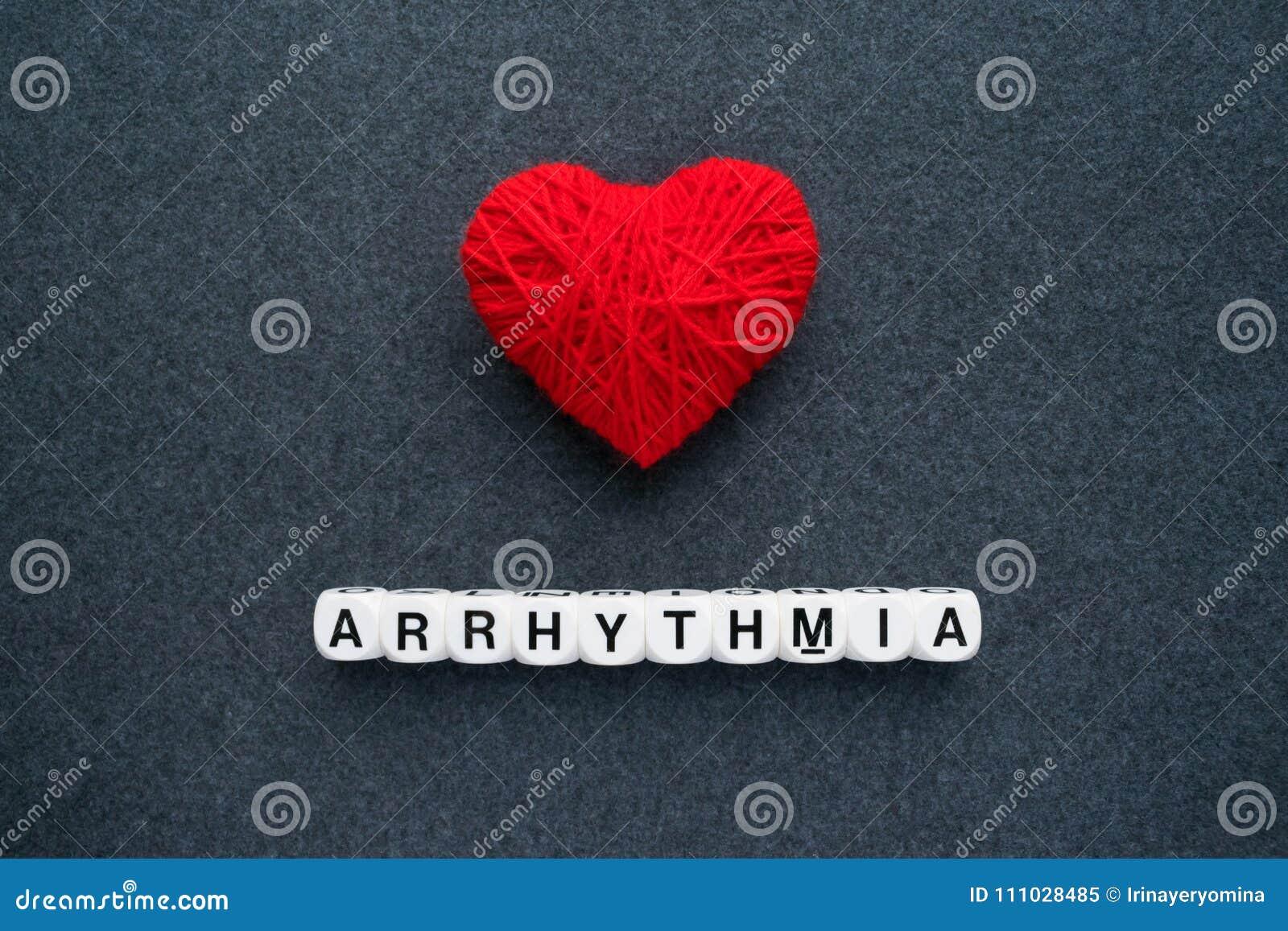 Heart arrhythmia, cardiac dysrhythmia or irregular heartbeat. Ar