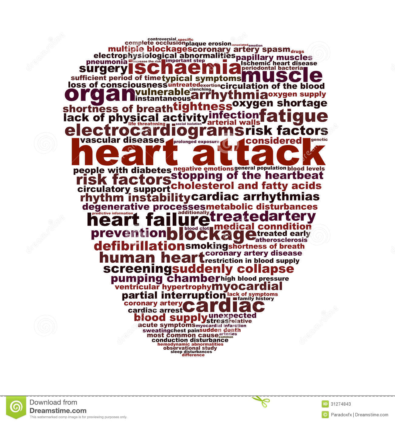 Heart Attack Medical Symbol Concept Stock Image Image Of Attack