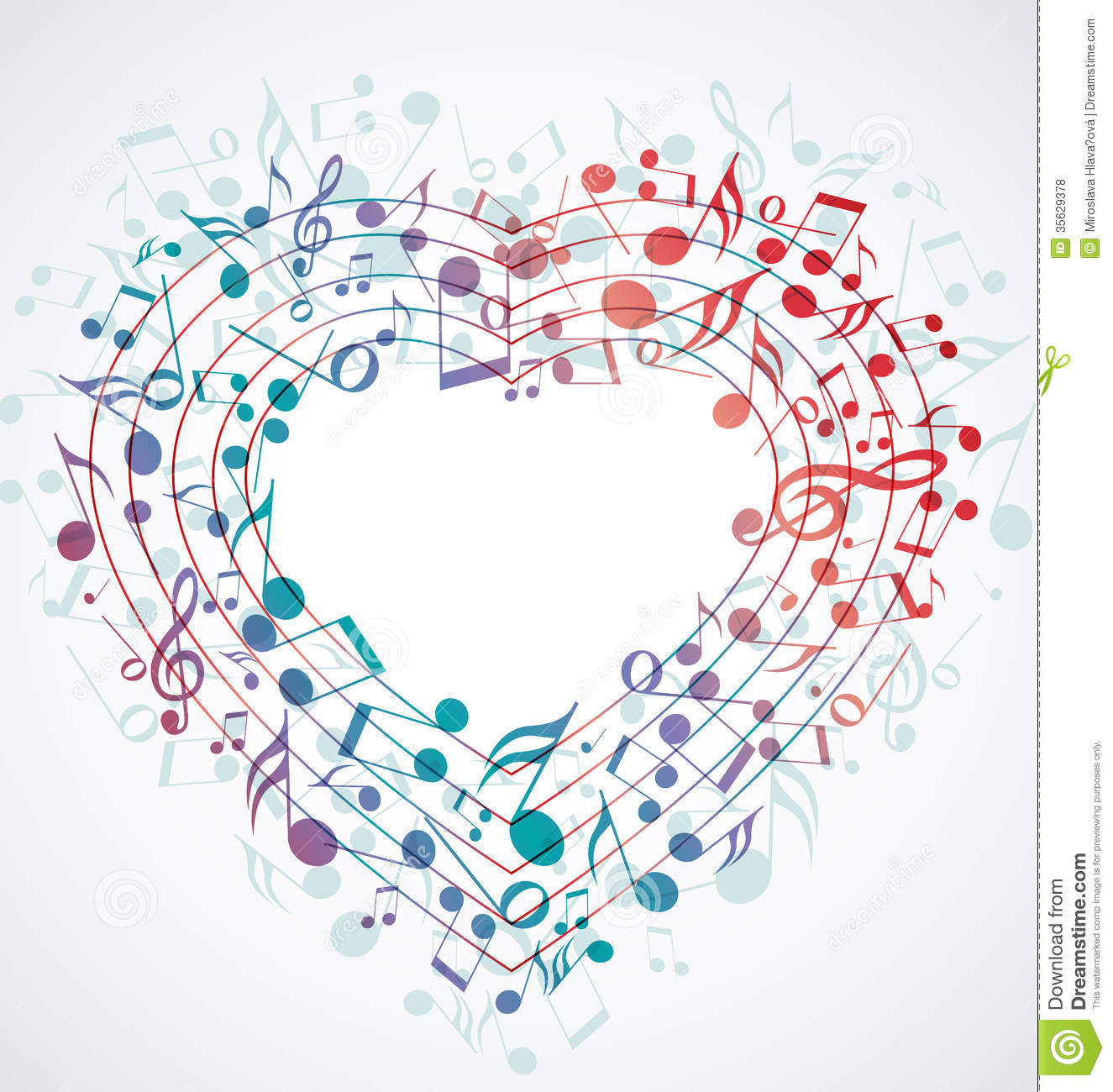 Good Wallpaper Music Heart - heart-background-made-up-musical-notes-35629378  Collection_4675.jpg