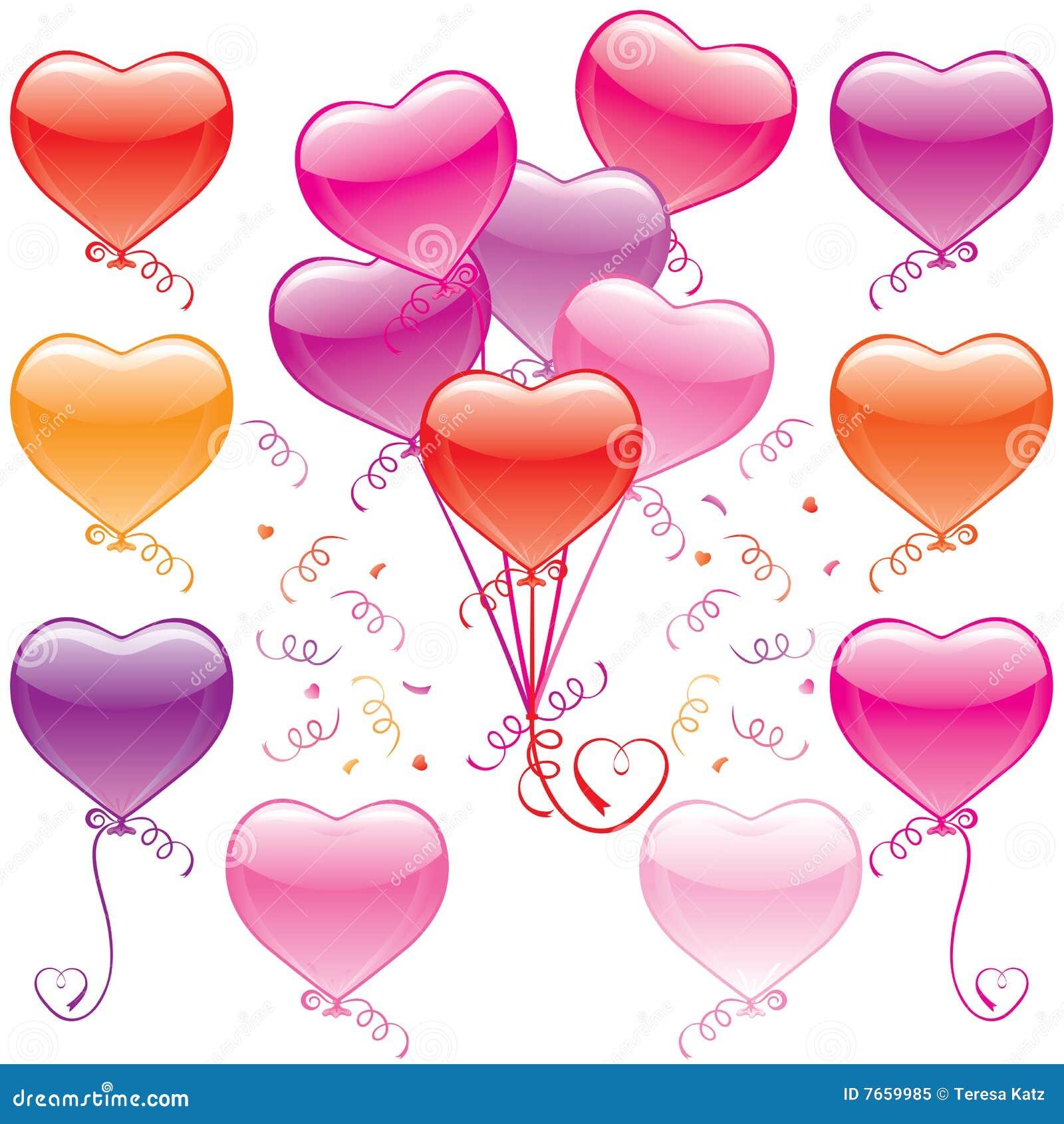 heart balloon bouquet stock vector  image of anniversary
