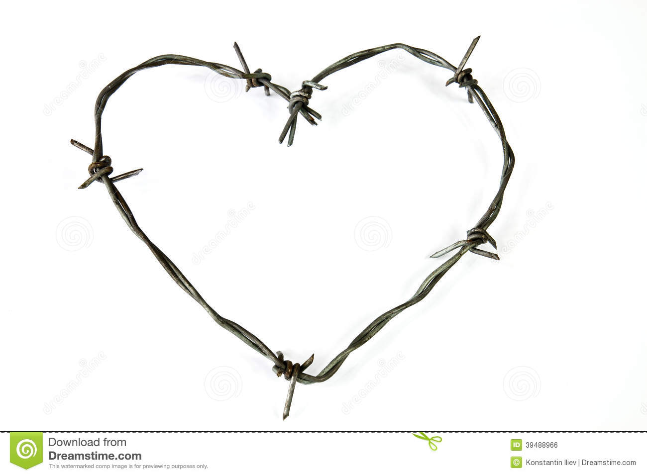 Amazing How To Draw A Bleeding Heart With Barbed Wire Step By Step ...