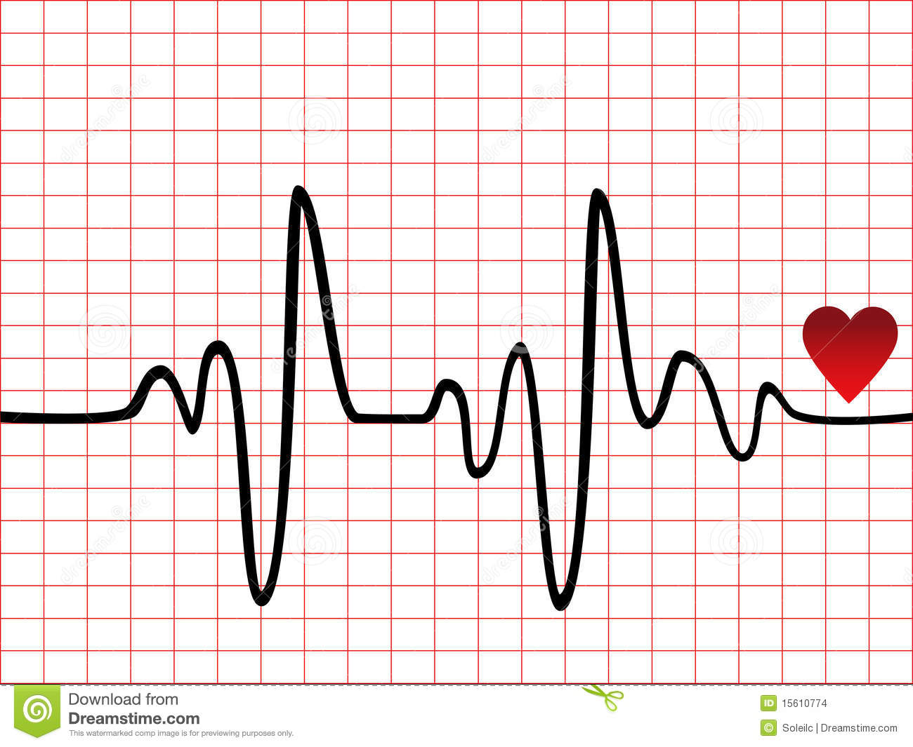 Heart Beat Monitor Stock Images Image 15610774