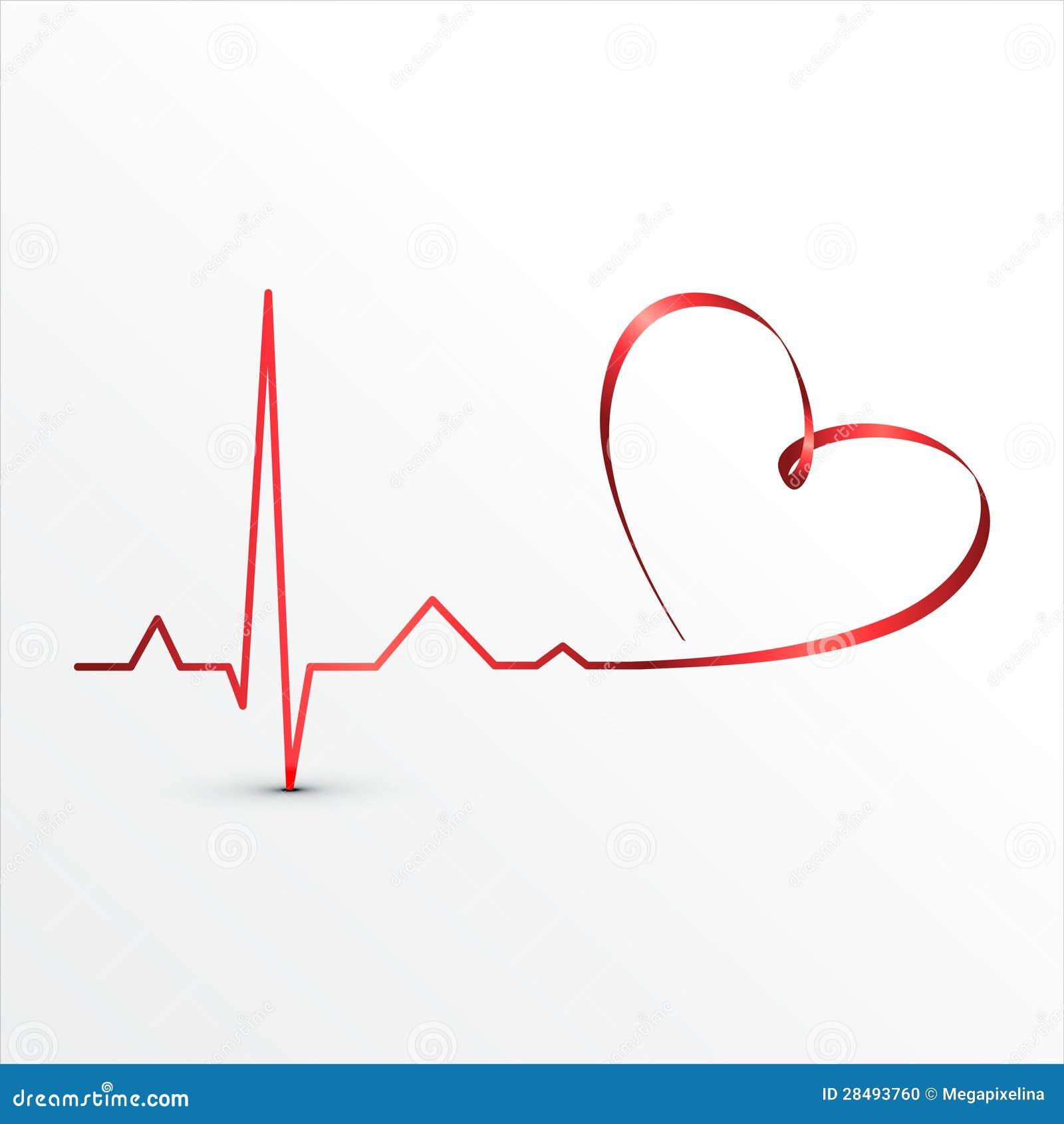 Heart Beats Cardiogram Icon Stock Photo - Image: 28493760