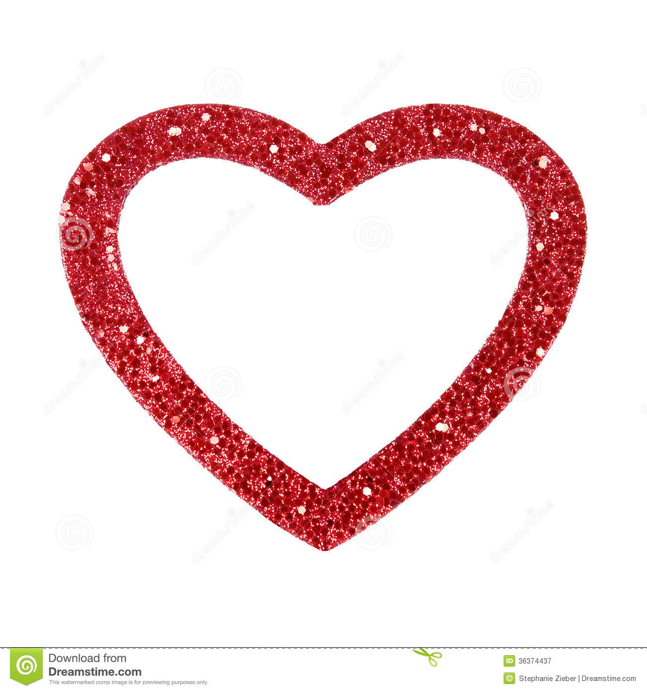 Heart Frame stock image. Image of glitter, invitation - 36374437