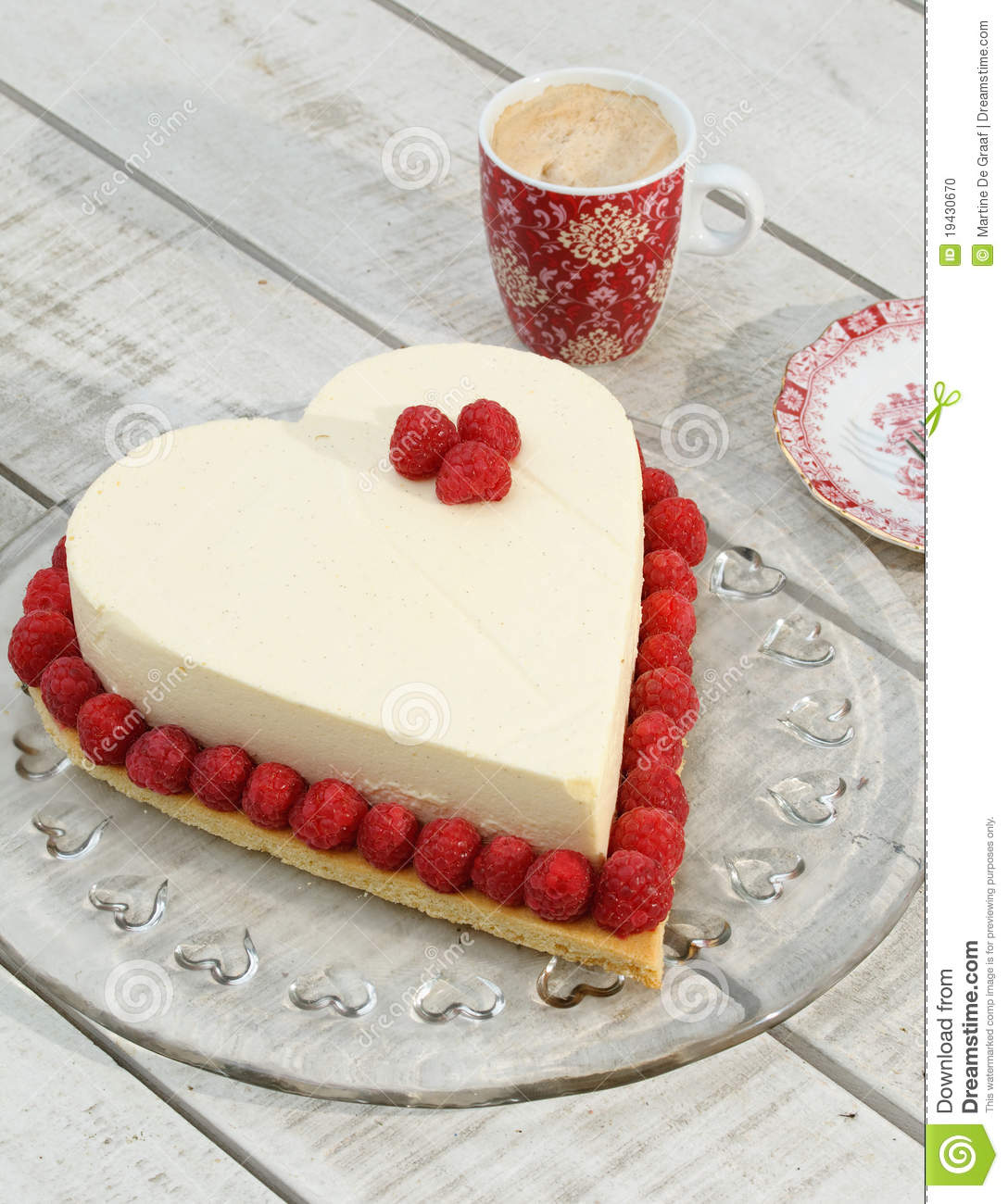 Heart Shaped Cake Stock Photos : Heart Cake Stock Photo - Image: 19430670