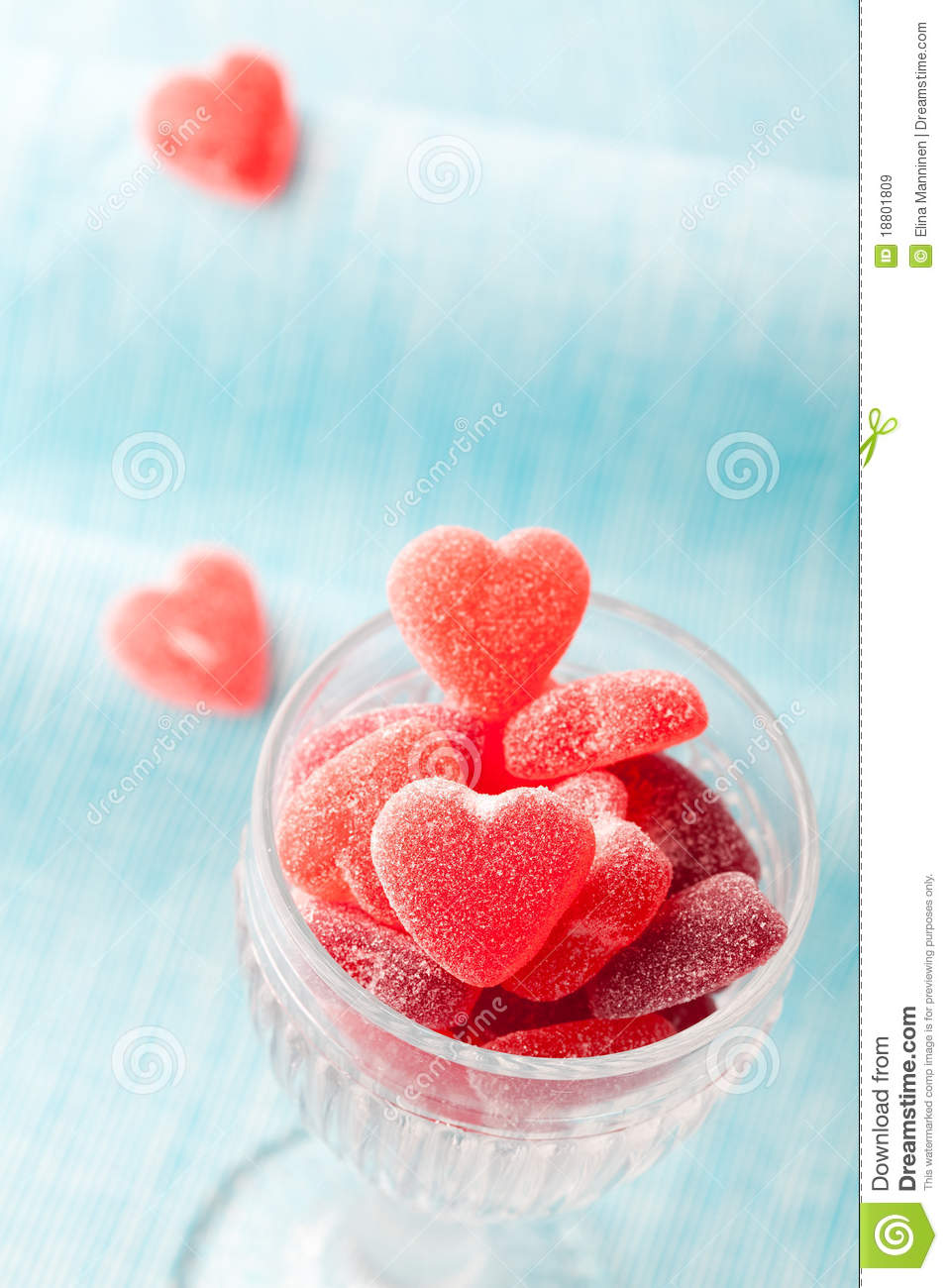 Download Heart candy stock image. Image of background, treat, candy - 18801809