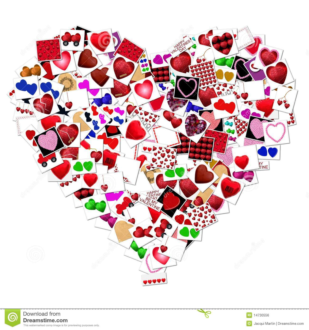 royaltyfree stock photo download heart collage