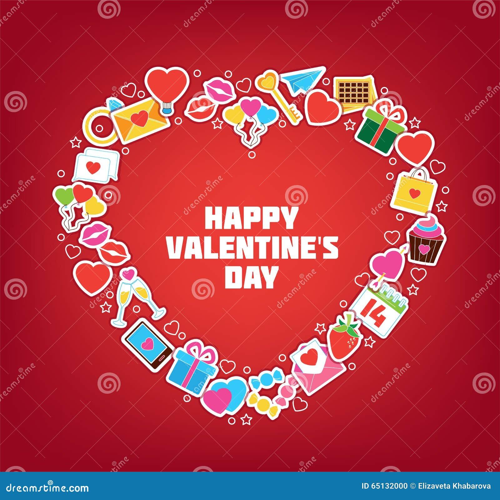 Heart/Doodle elementy Ilustracyjni karcianej dzień projekta dreamstime zieleni kierowa ilustracja s stylizował valentine wektor J