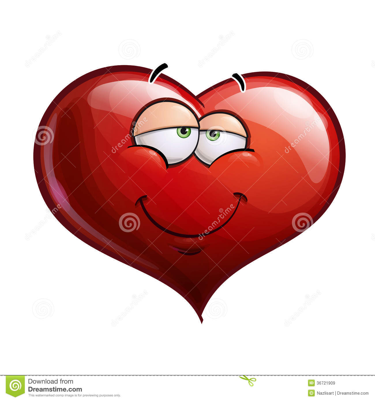 Heart Faces - In Love Royalty Free Stock Images - Image ...