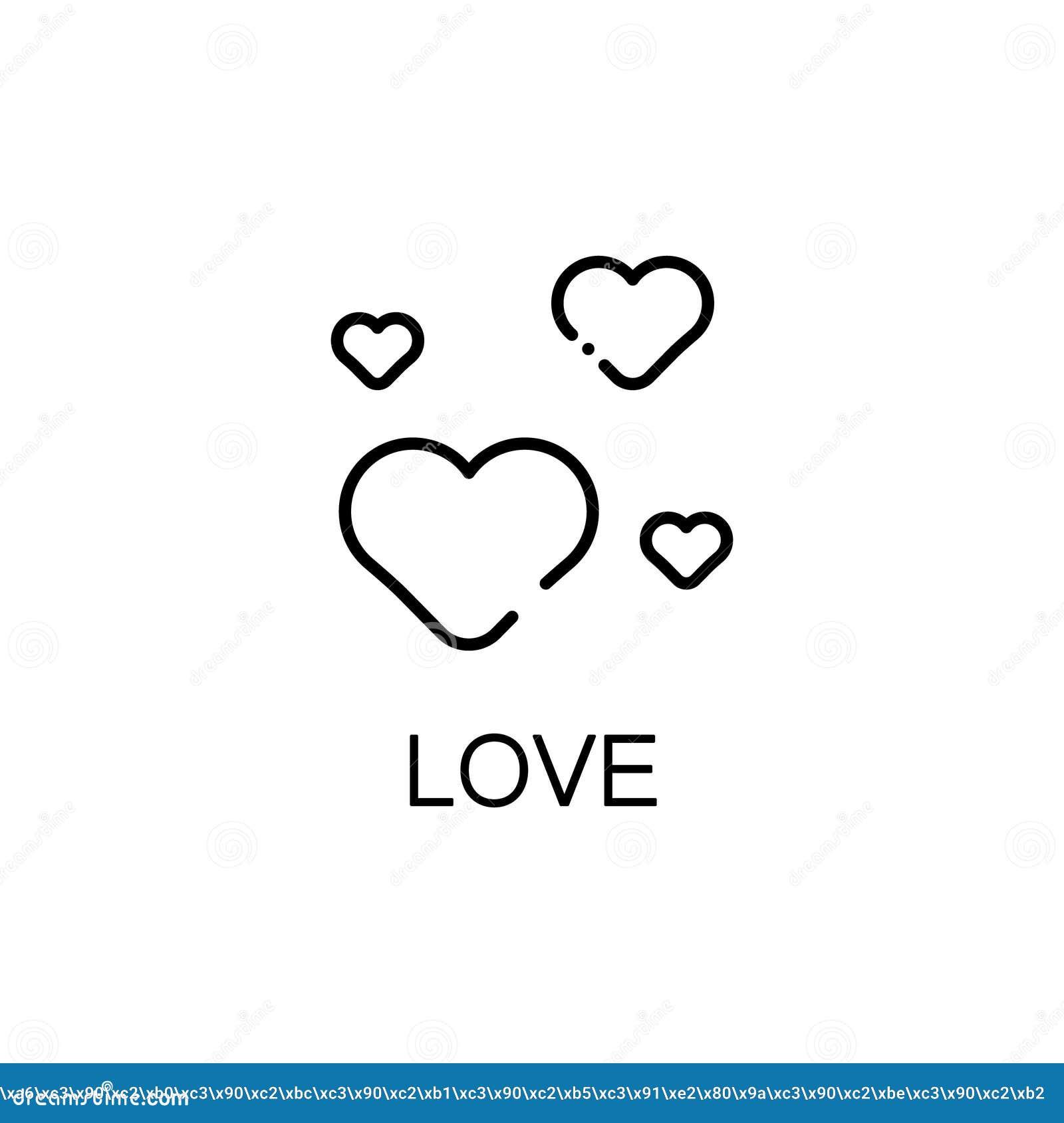 Heart flat icon stock vector illustration of cardio 81509917 heart flat icon buycottarizona Image collections