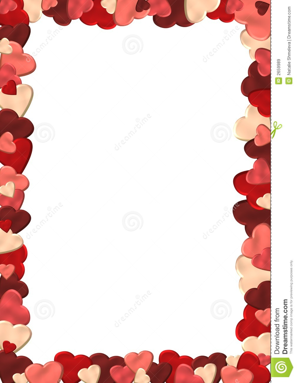 Heart frame stock image. Image of ornate, light, ornamental - 2659989