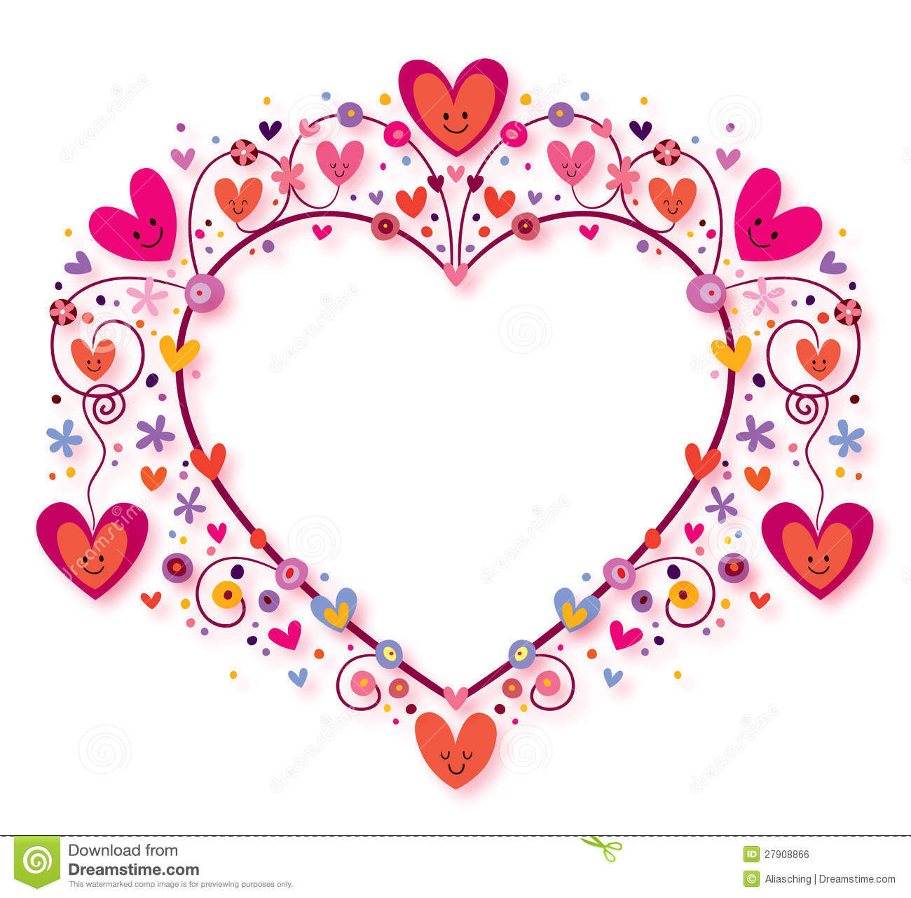 Shiny heart frame, 3160, download royalty-free vector clipart (EPS)