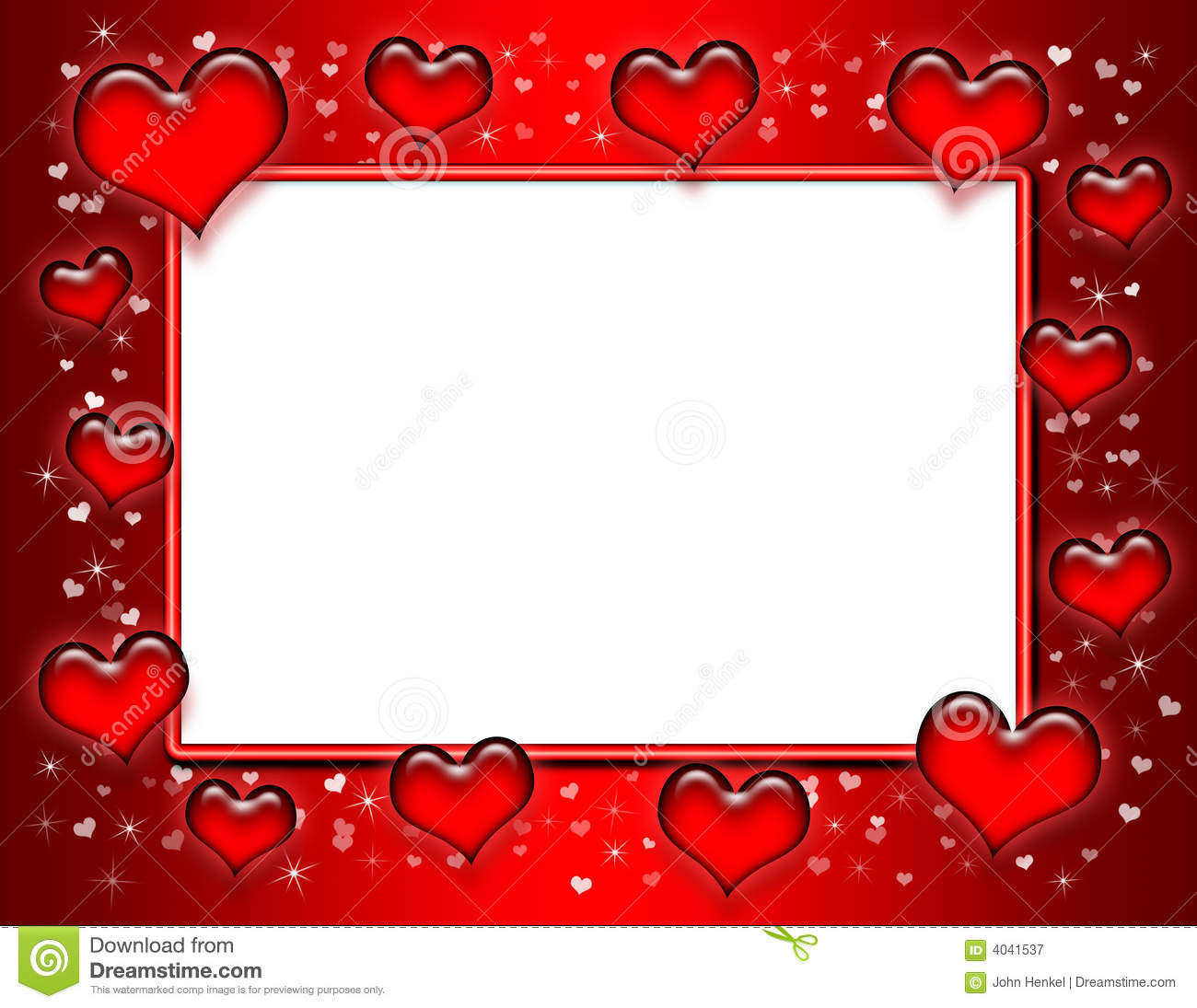 Heart Frame Royalty Free Stock Photography - Image: 4041537