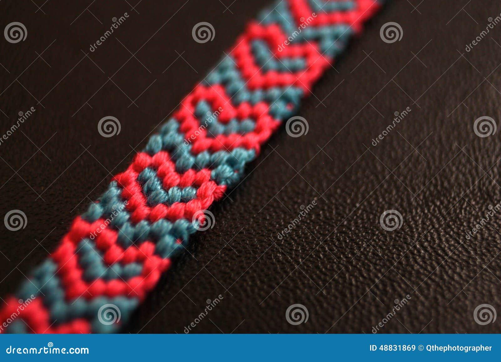 Blue Bracelet Friendship Heart