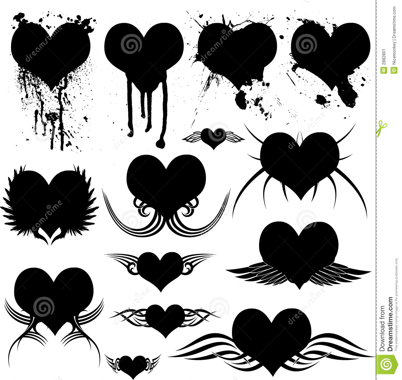 Gothic Heart Tattoos Heart gothic