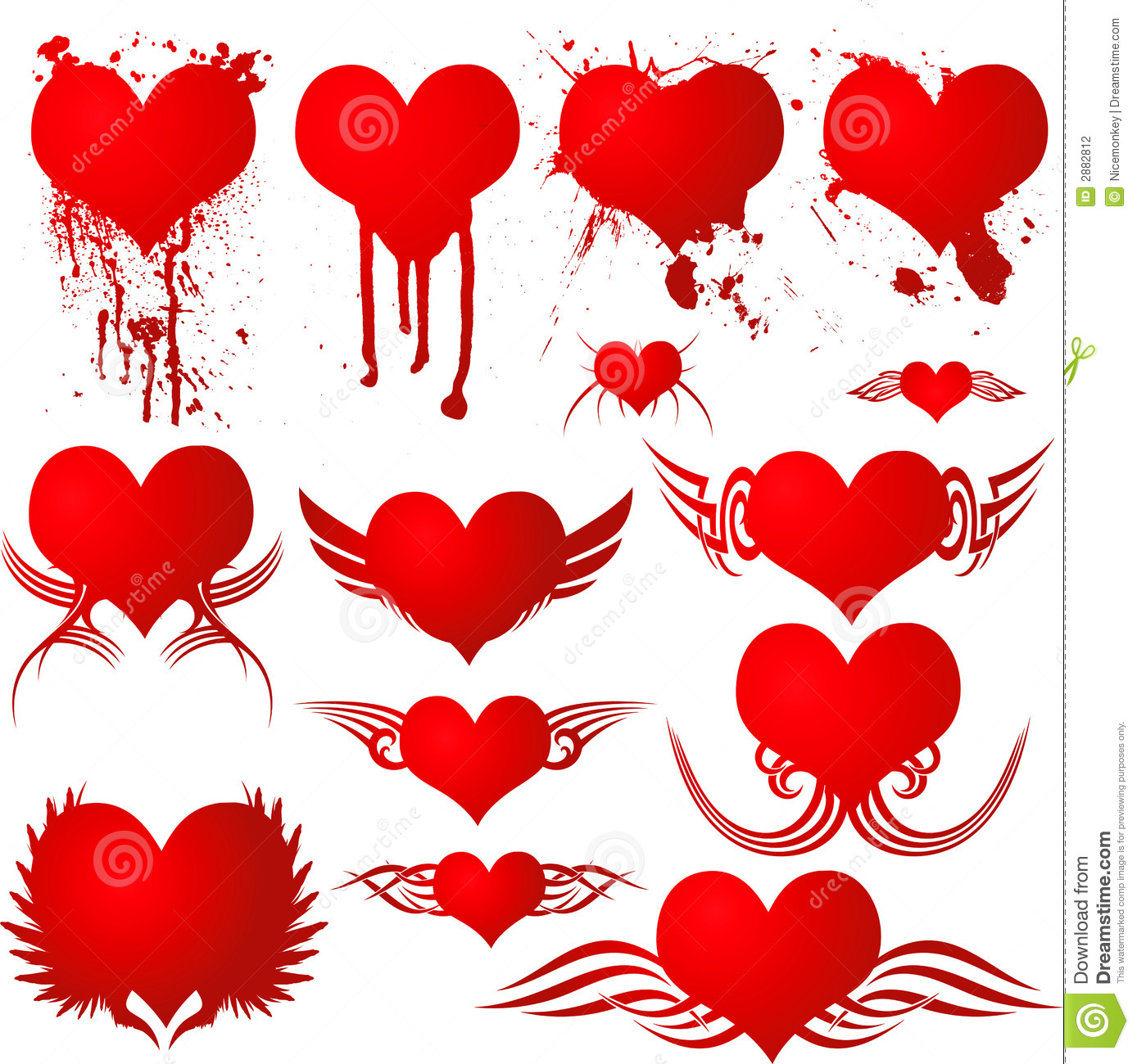 Gothic Heart Tattoos Heart gothic blood