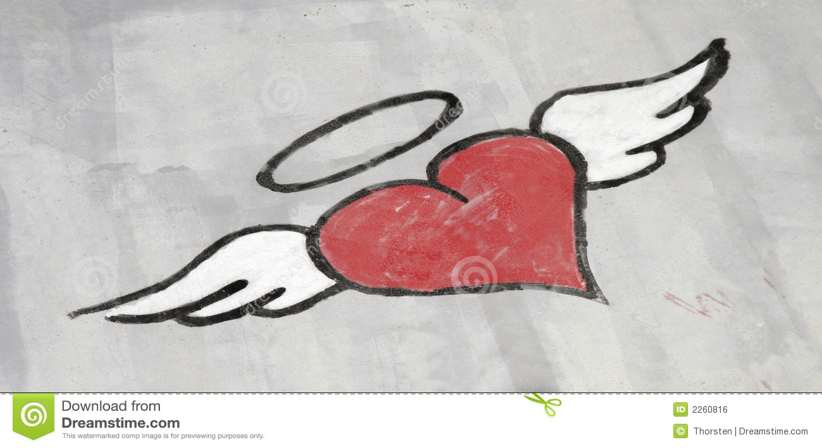 Heart Graffiti Stock Photo Image Of Graffiti Grey Painting 2260816