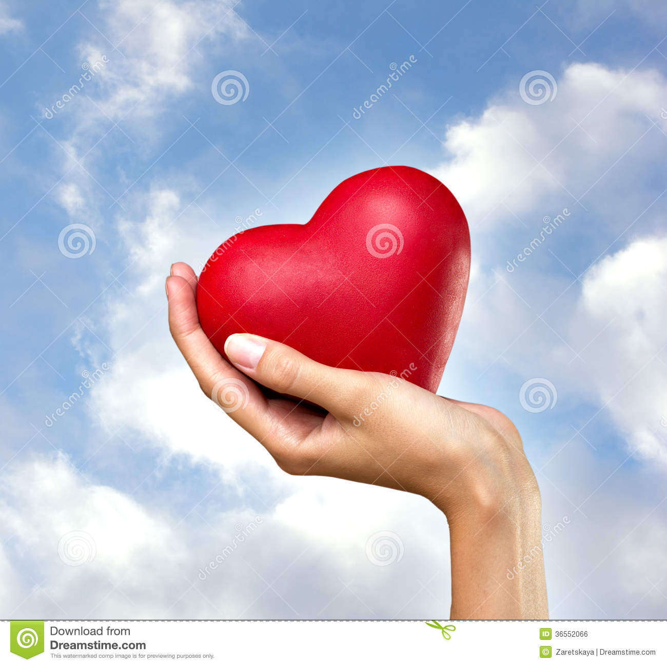 heart-hand-red-womans-blue-sky-clouds-ba