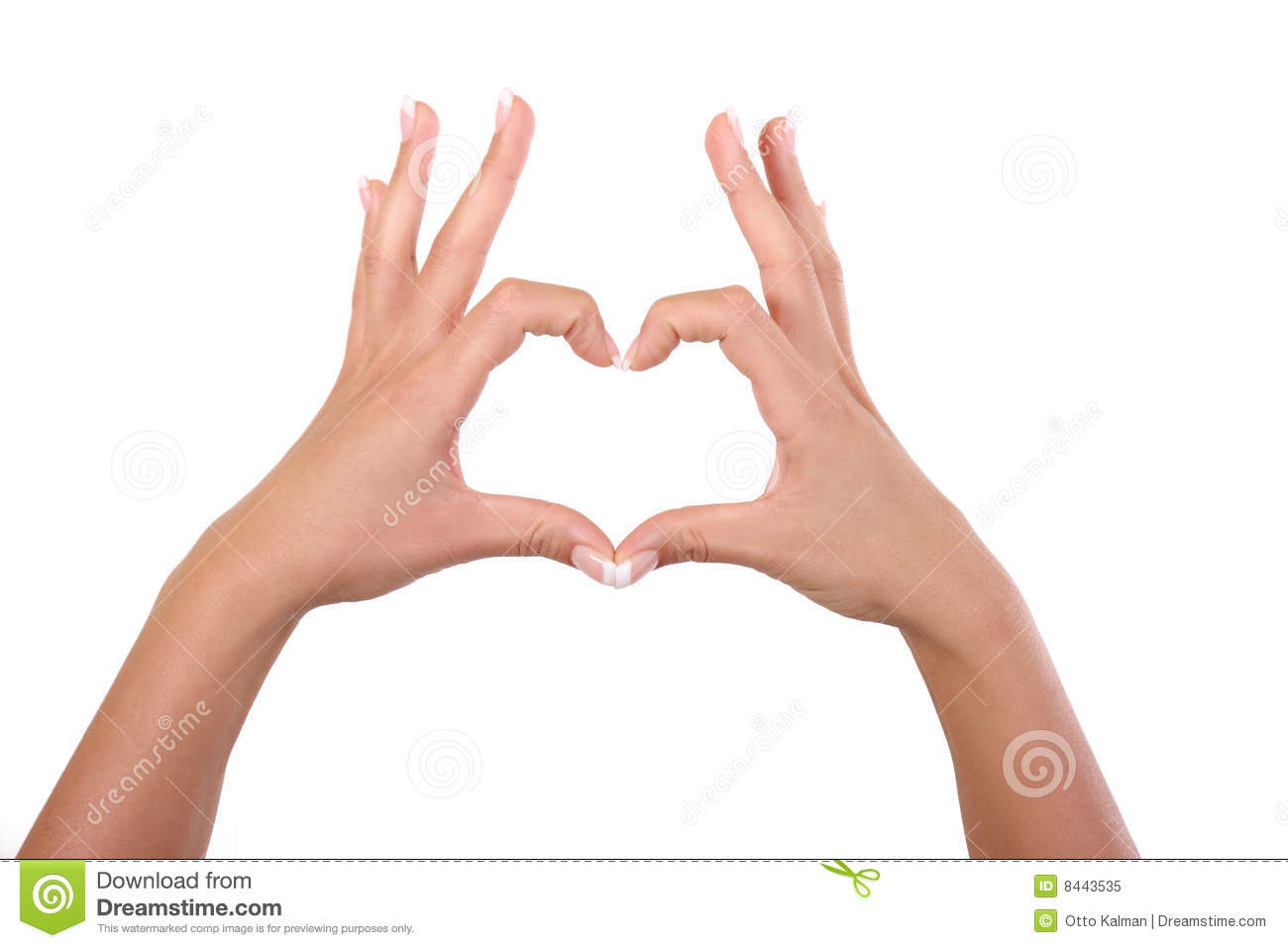 Heart by hands
