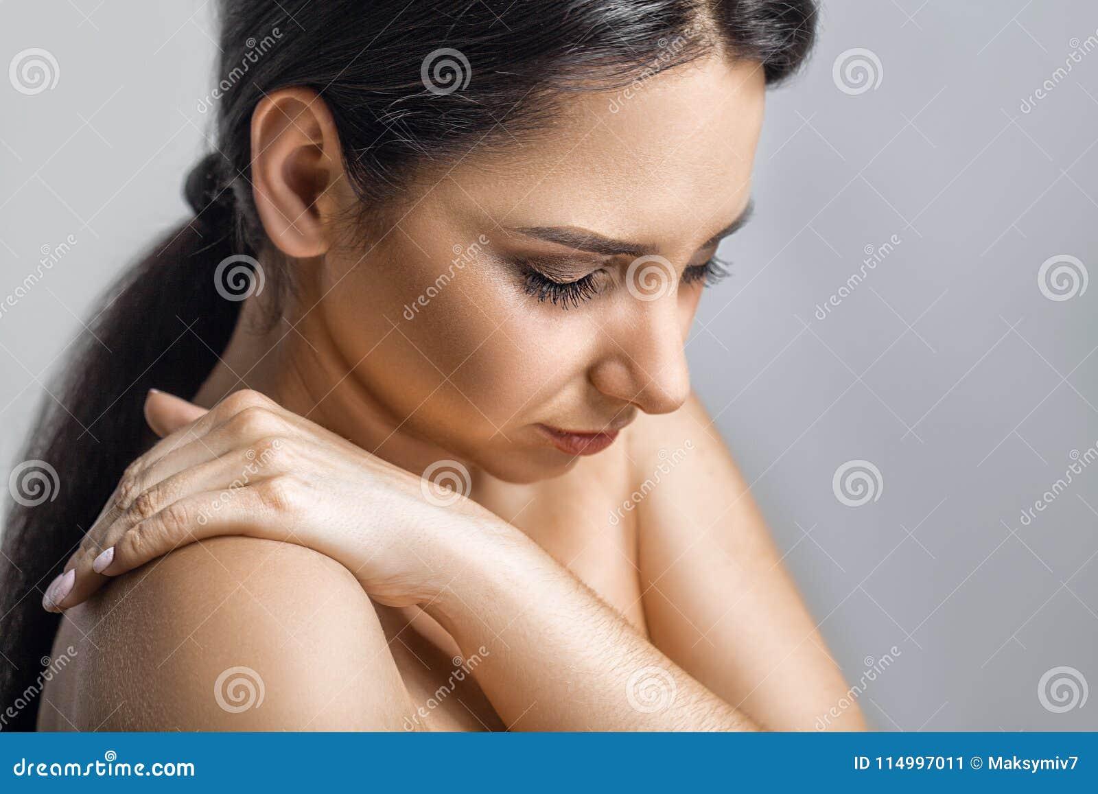 Feeling Up A Woman