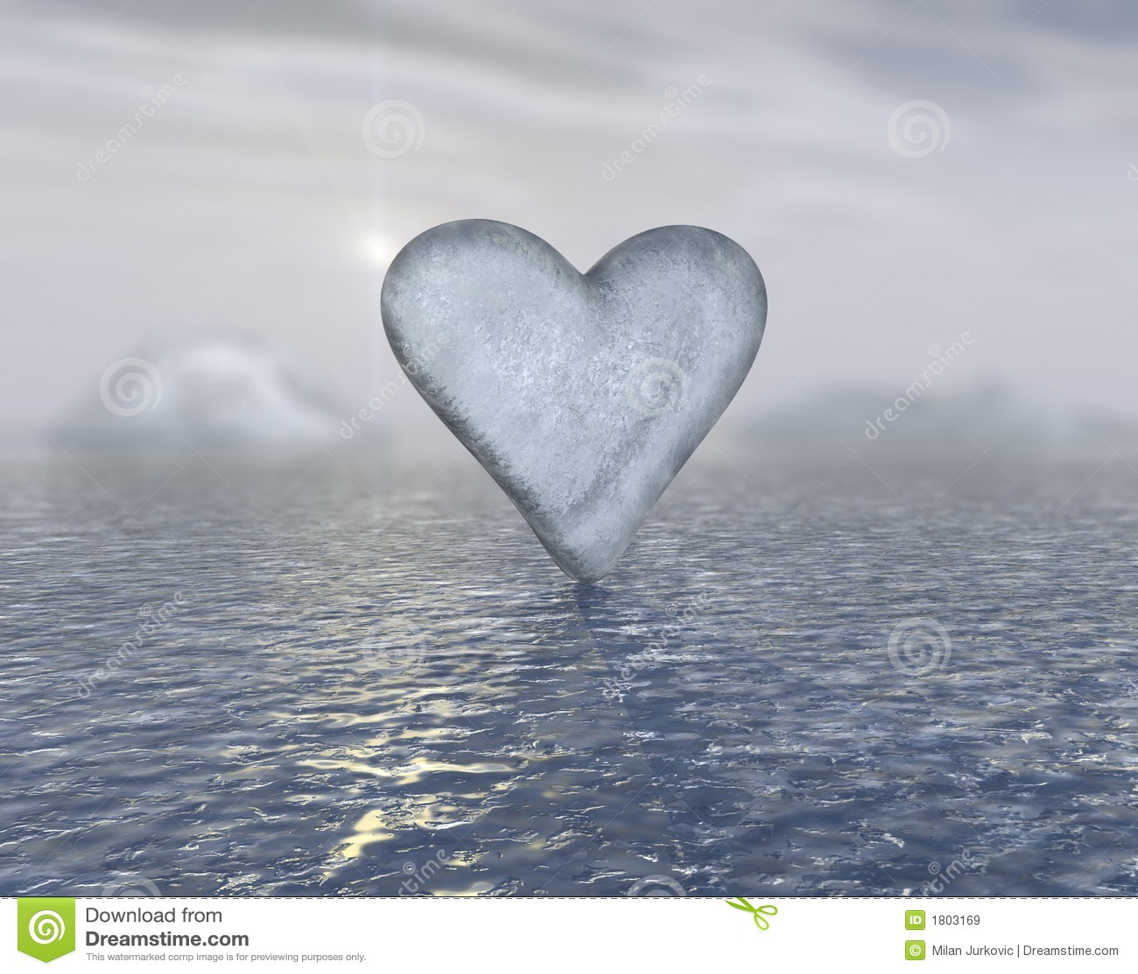 Heart Of Ice Stock Photo - Image: 35664670