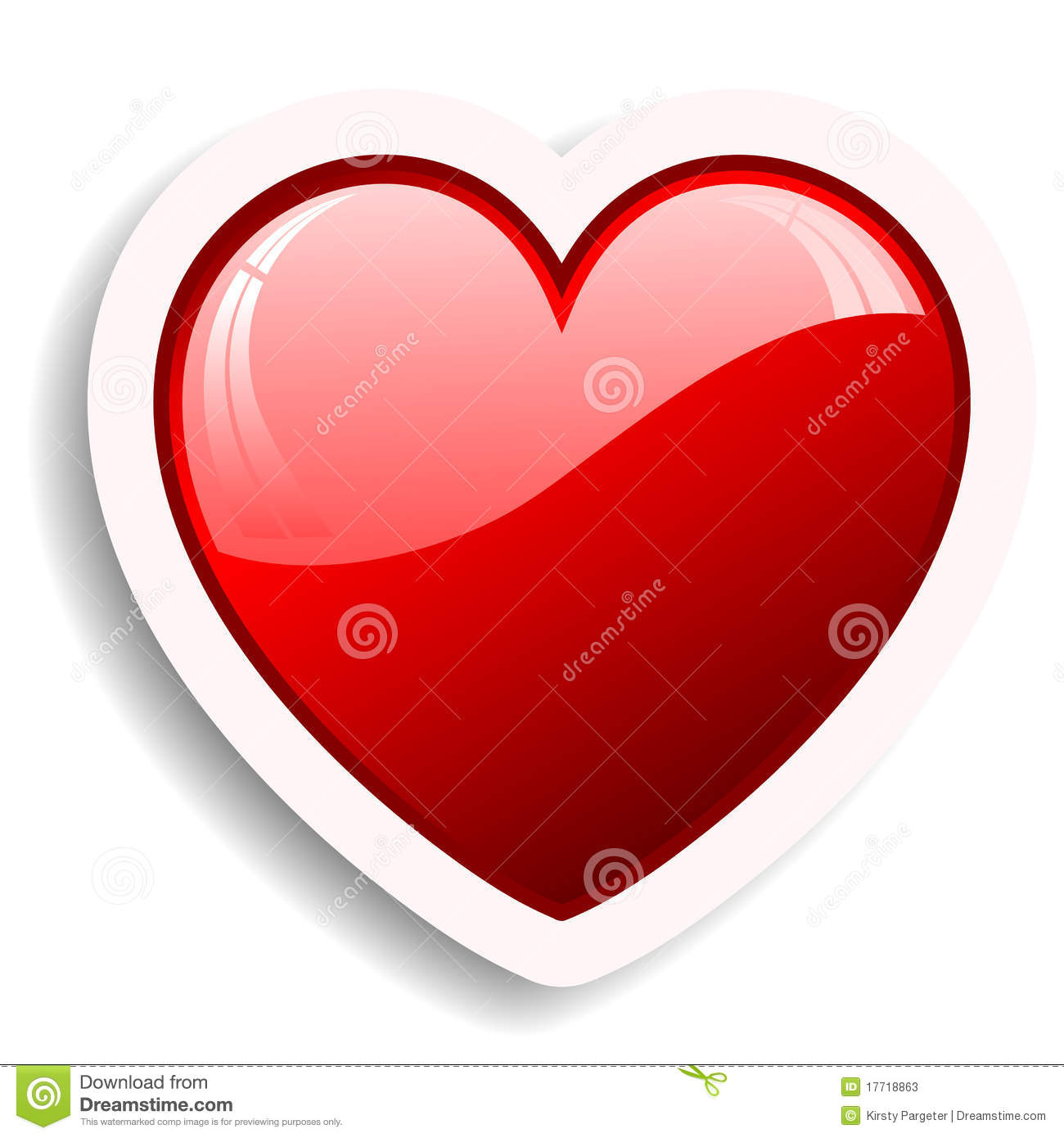 Heart Icon Stock Photos - Image: 17718863