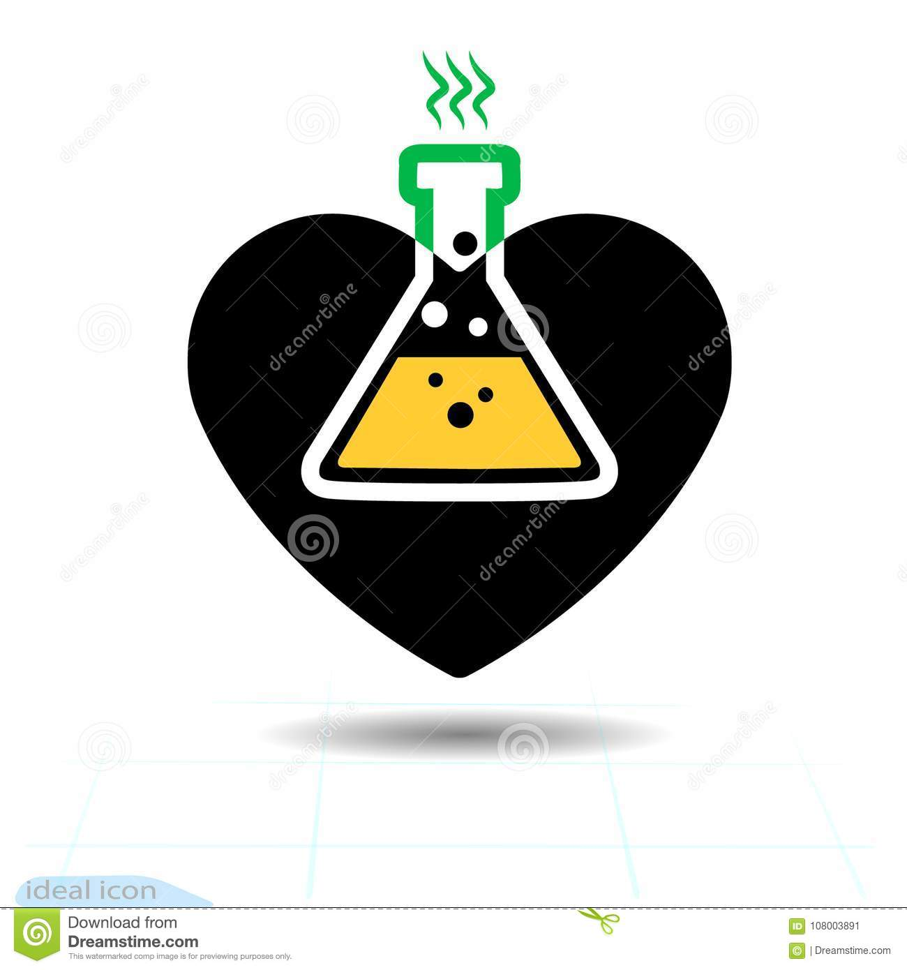 Heart Icon A Symbol Of Love Valentine S Day With The Sign Of The