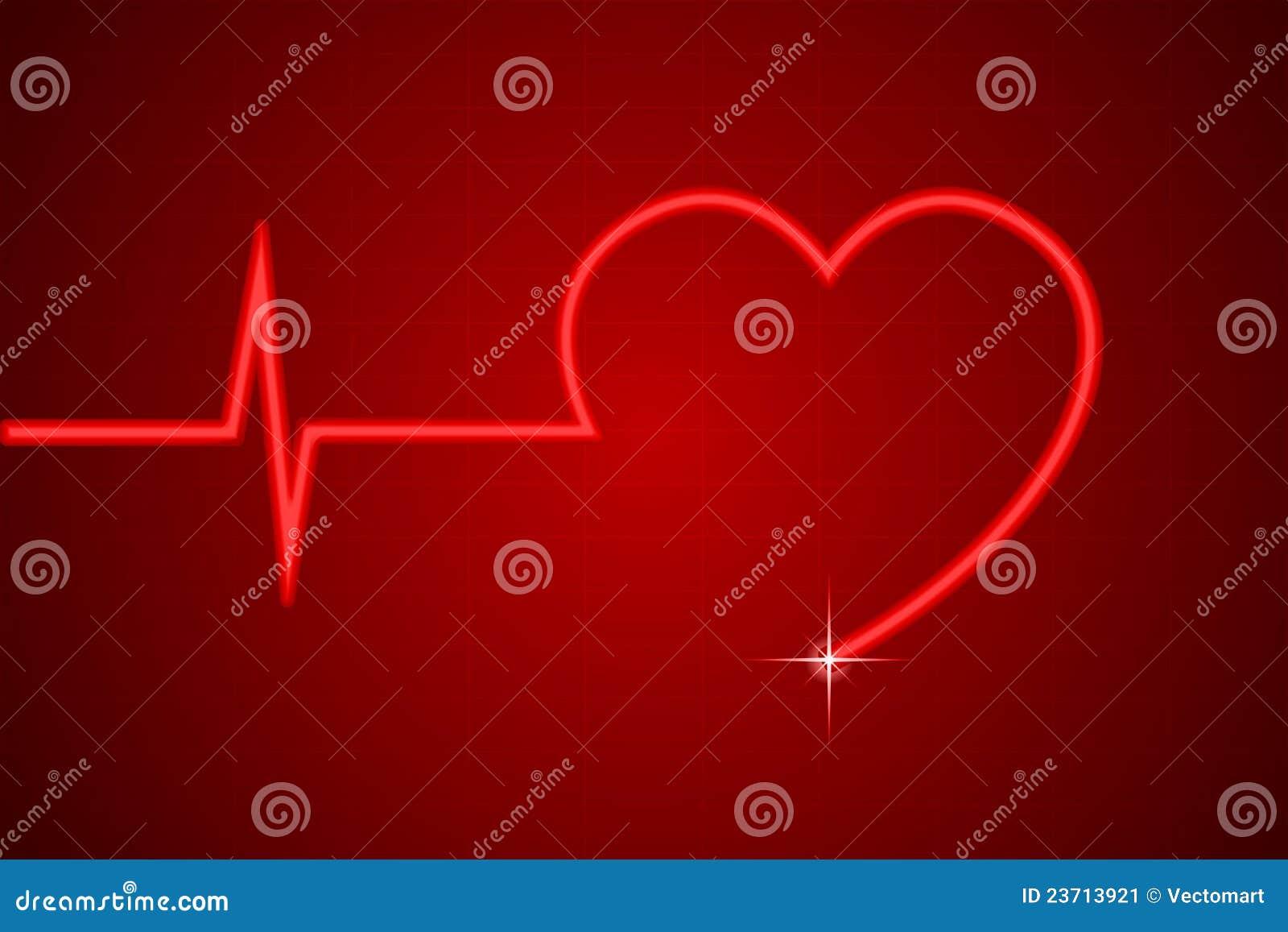 heart line stock image