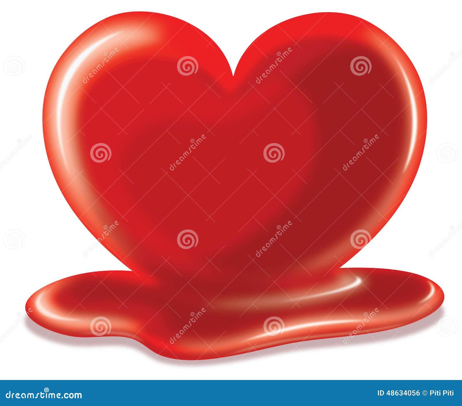 Image Of Heart Melting