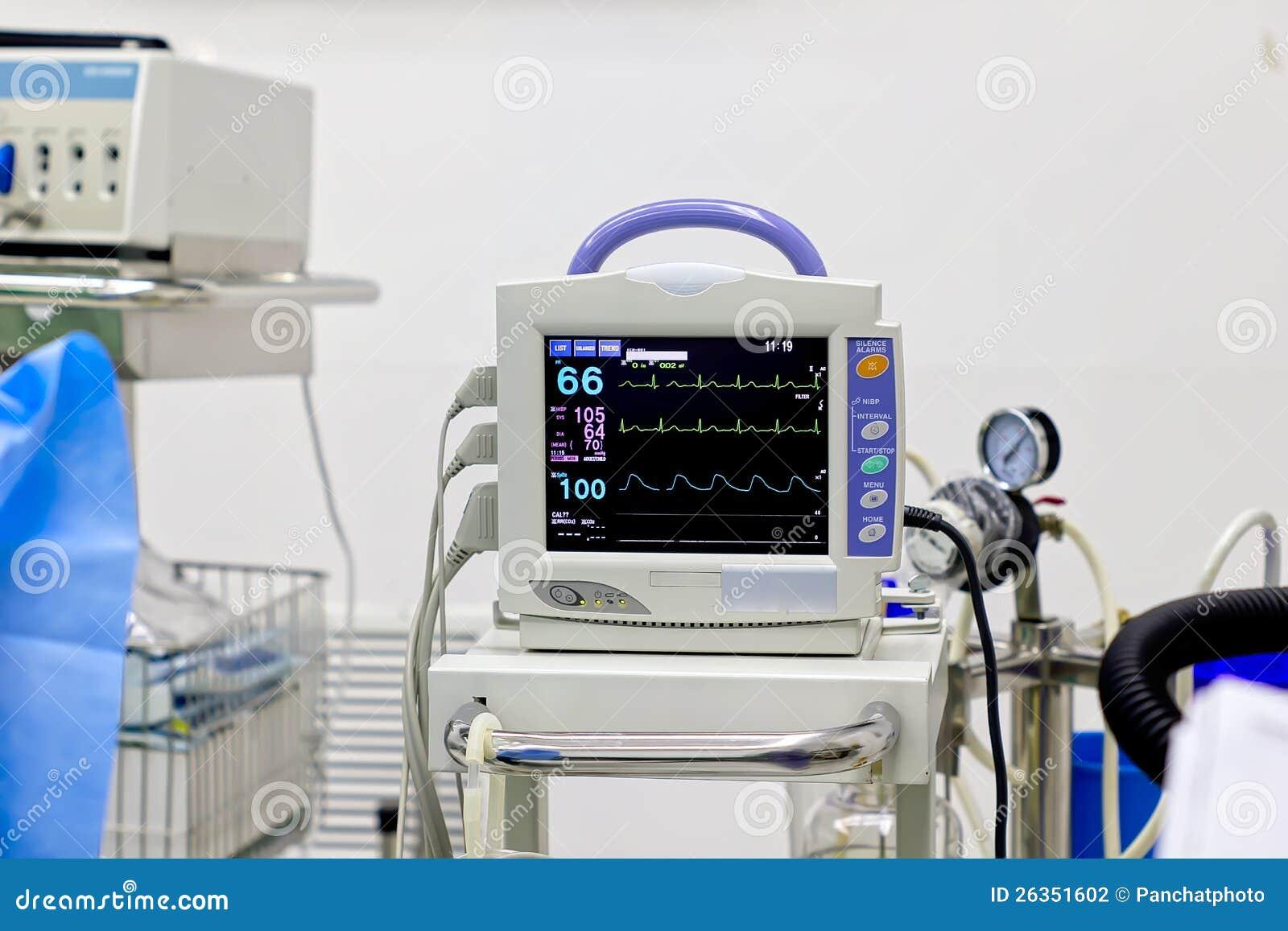 Heart Monitor Stock Photography - Image: 26351602
