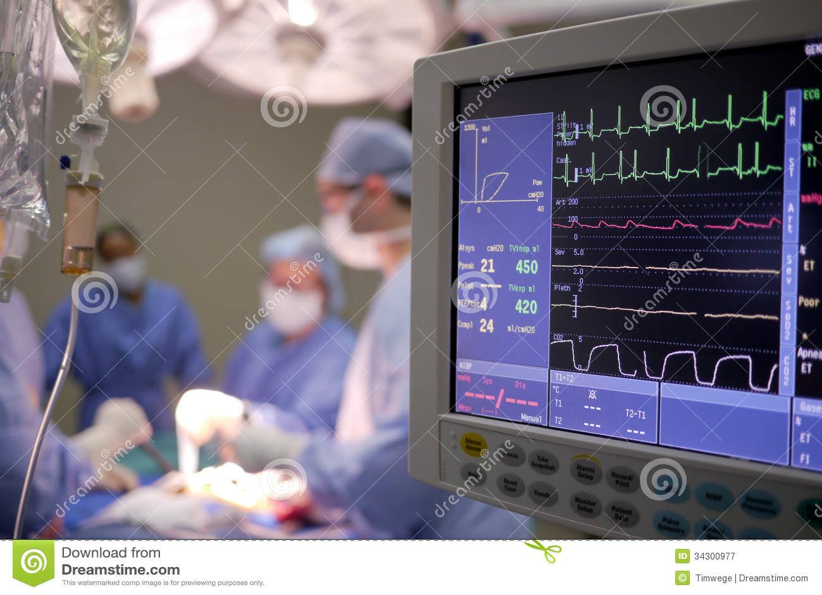 hospital chip machine