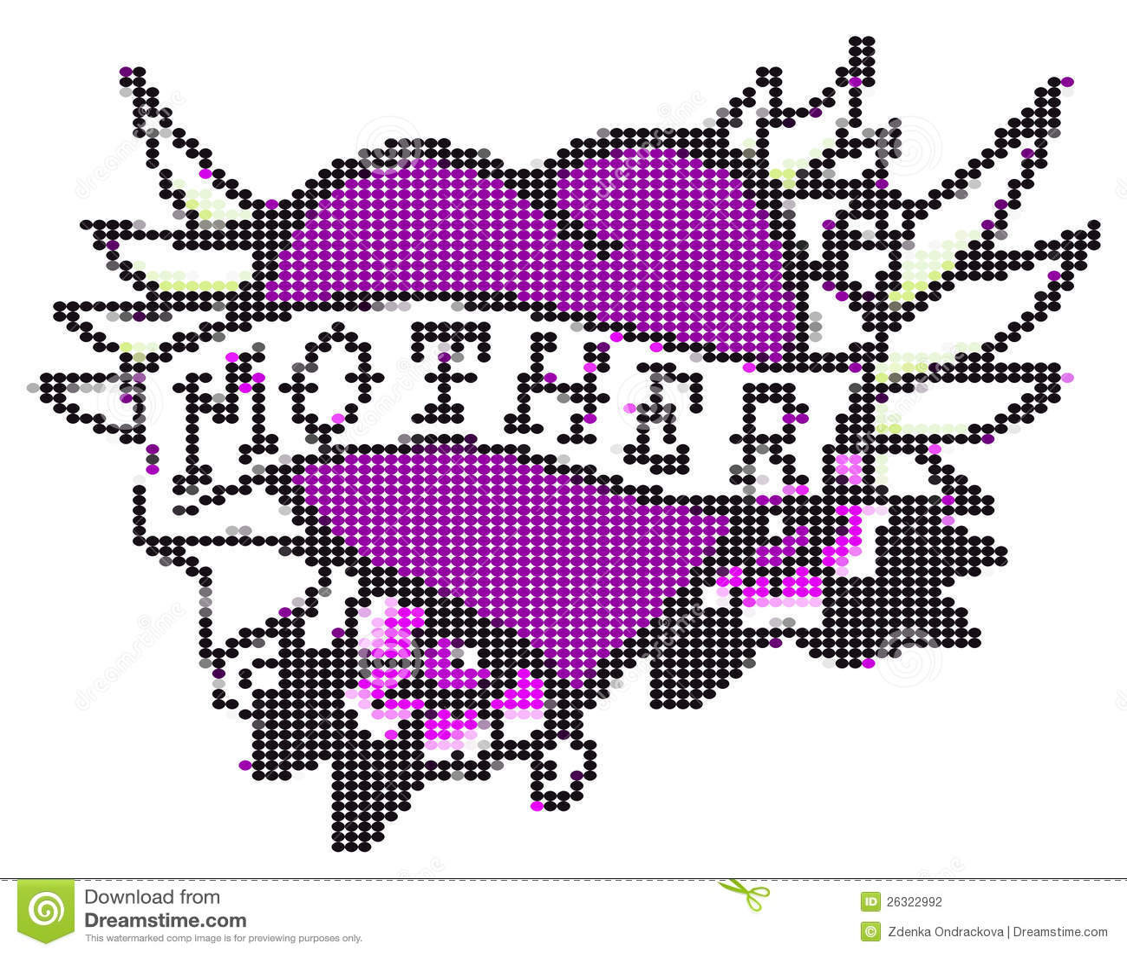 Heart mother 3 stock illustration  Illustration of theme