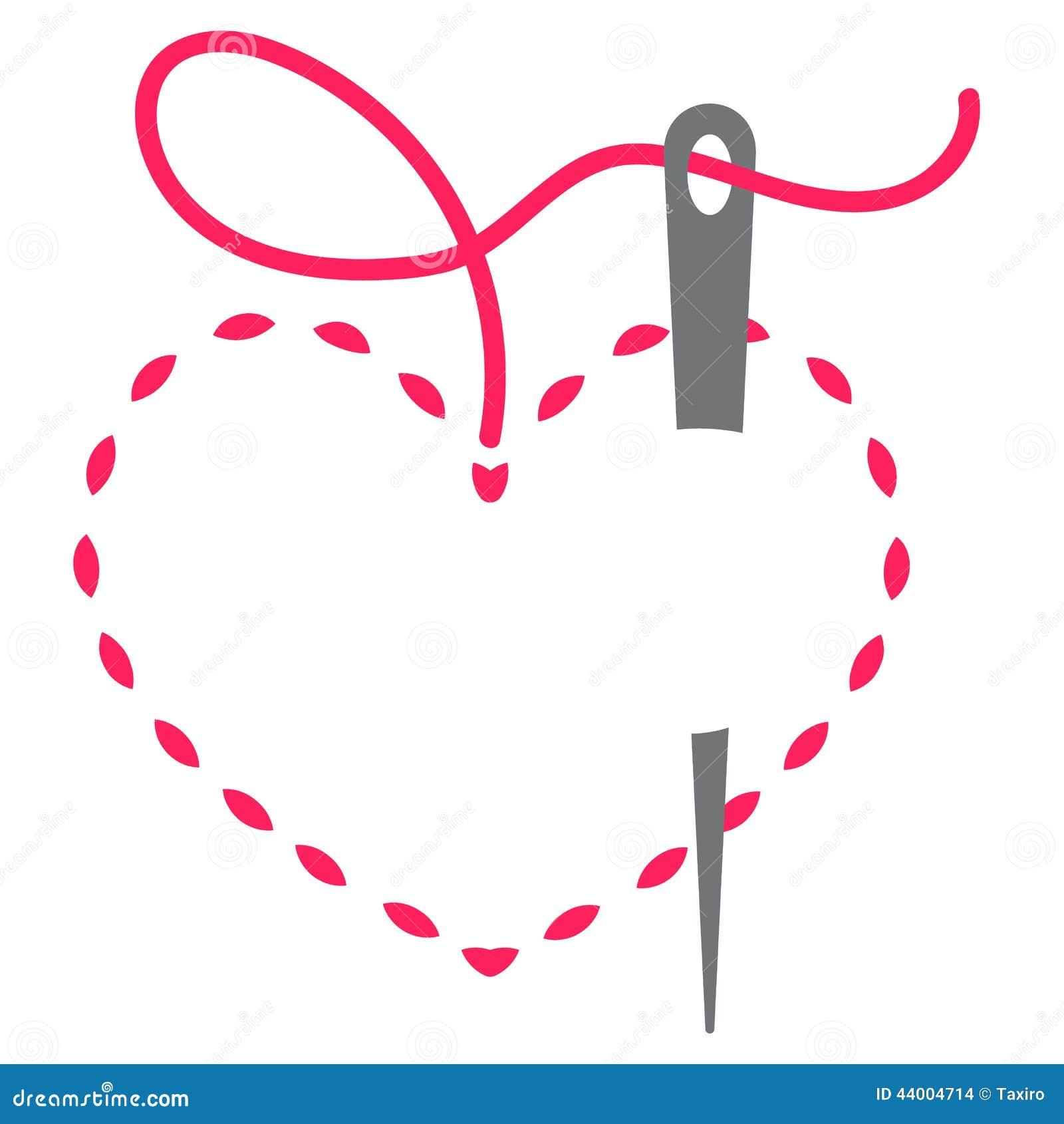Heart and needle