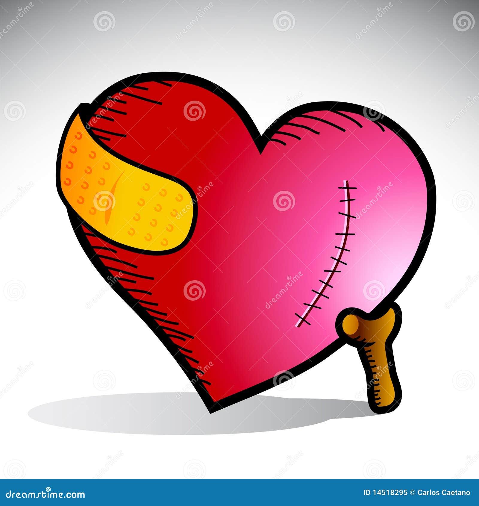 Heart Pain Royalty Free Stock