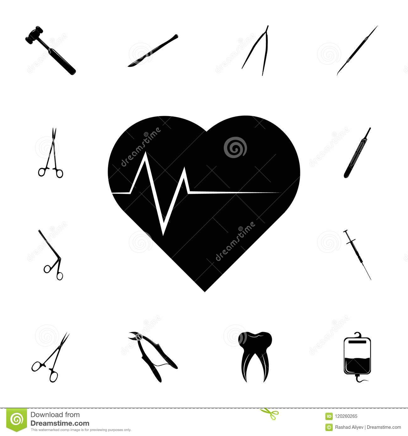 Heart And Palpitations Icon  Detailed Set Of Medicine Icons