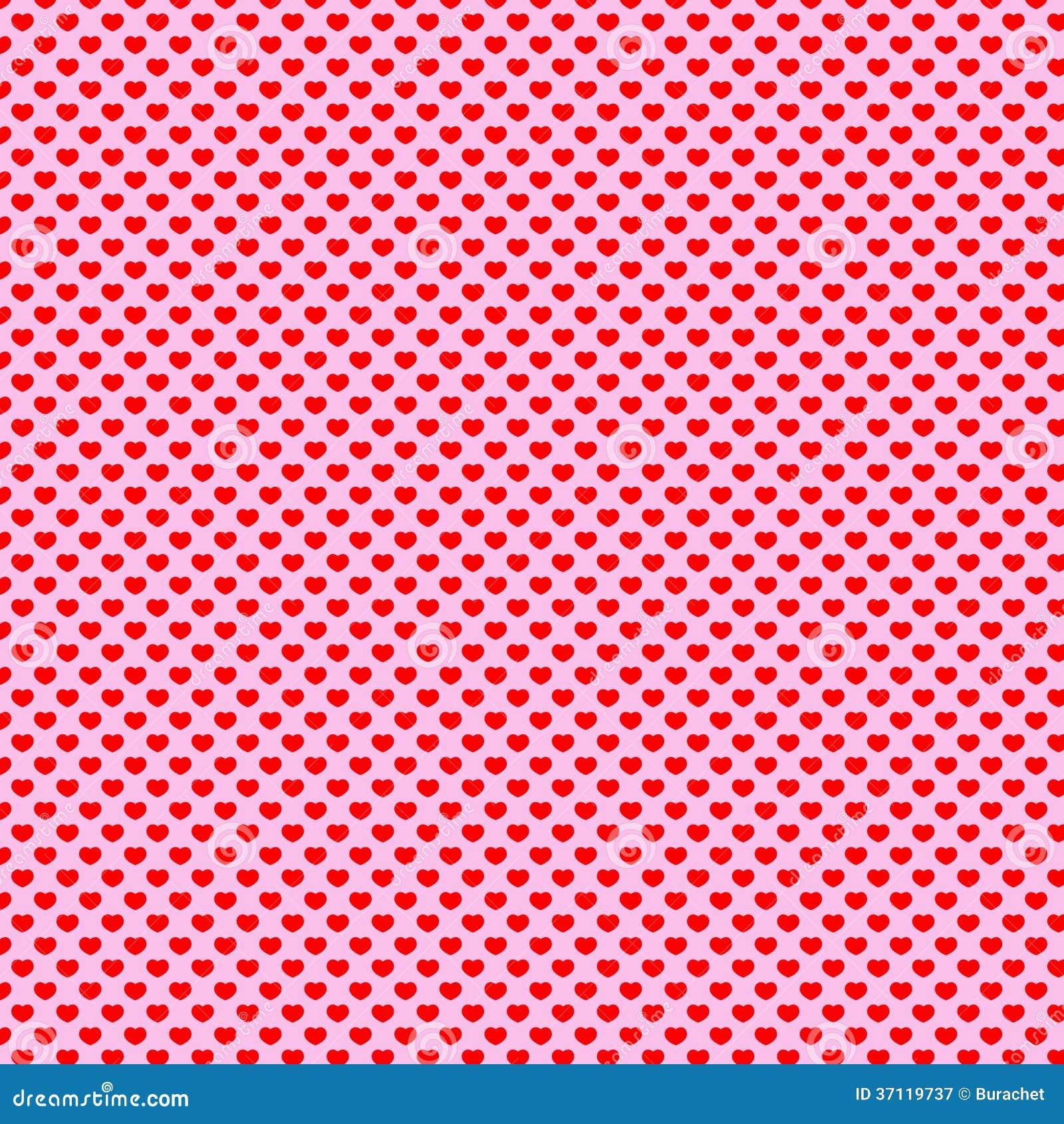 Heart Polka Dot Pattern