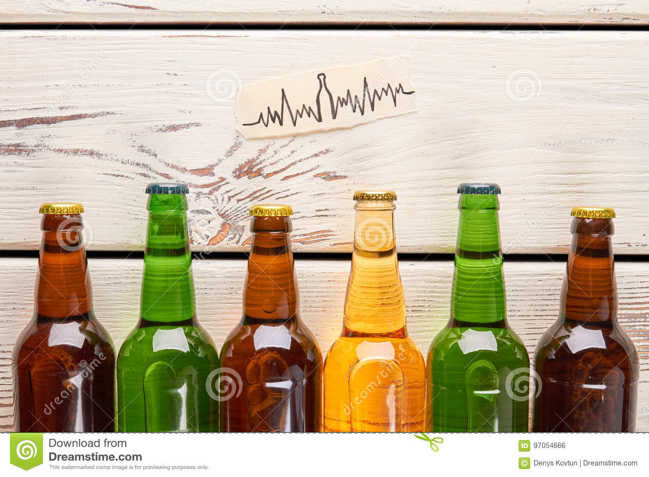 Heart problems from alcohol usage.